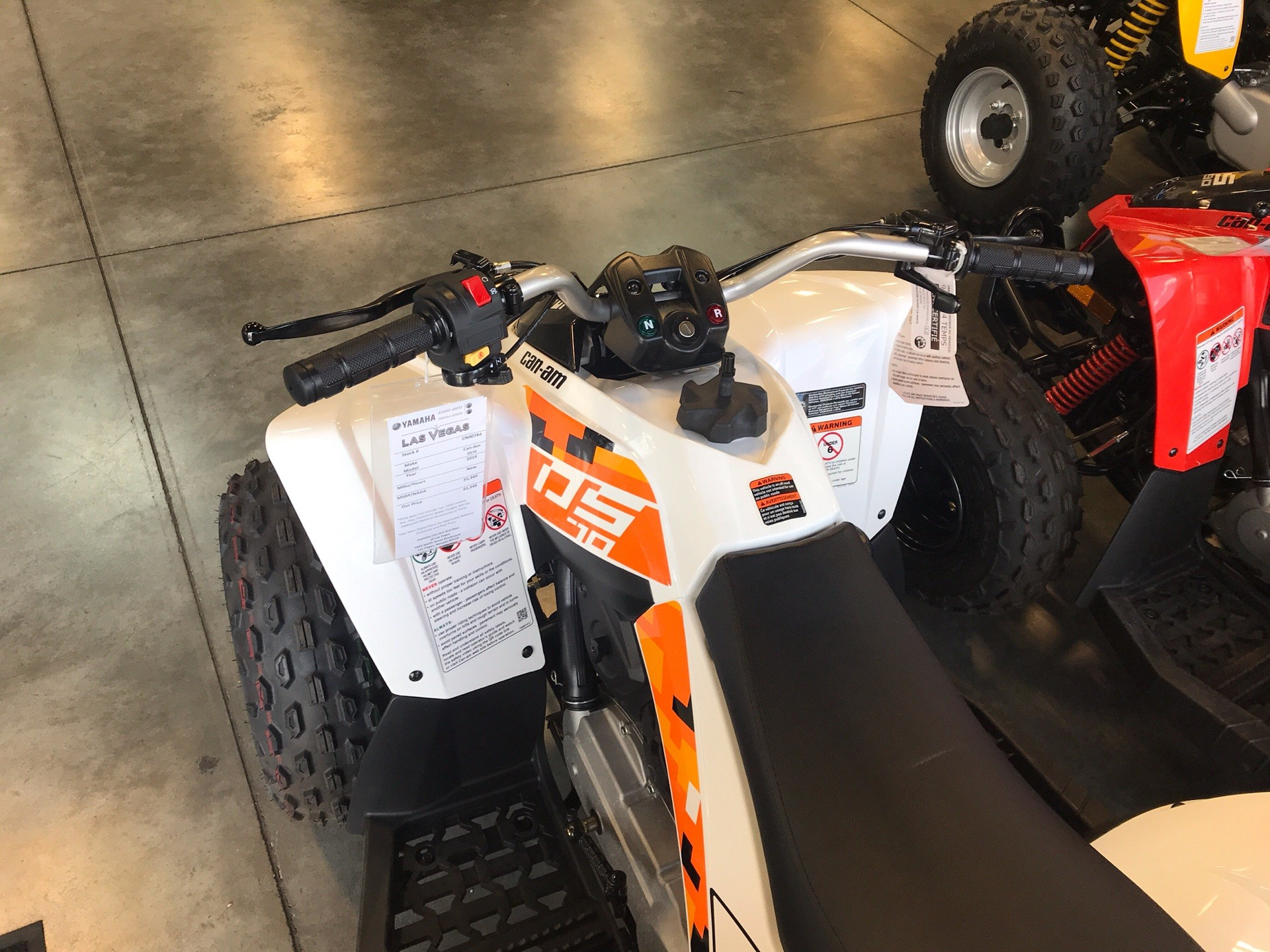 2019 Can-Am DS 70 in Las Vegas, Nevada - Photo 3
