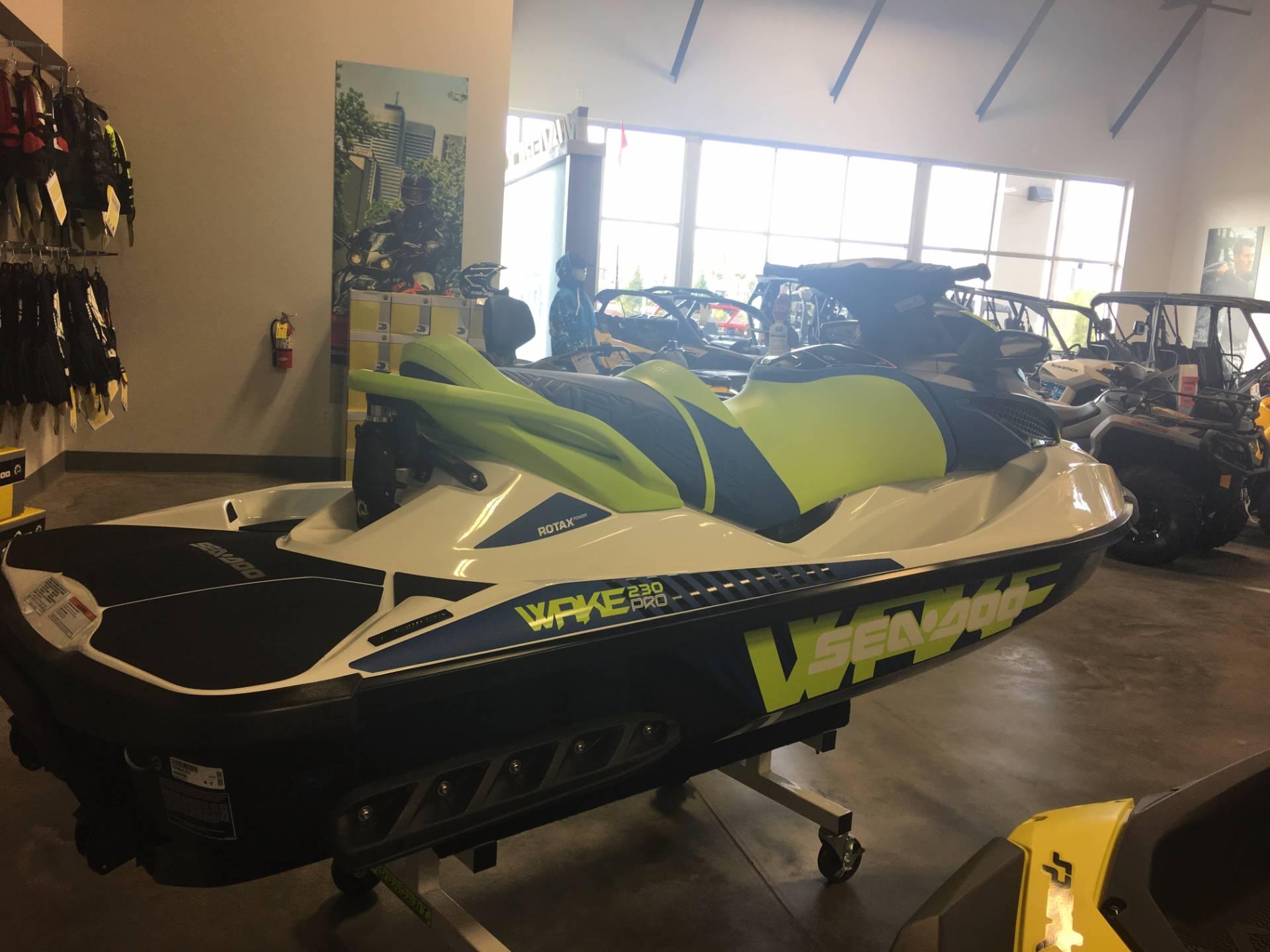 2017 Sea-Doo WAKE Pro 230 in Las Vegas, Nevada