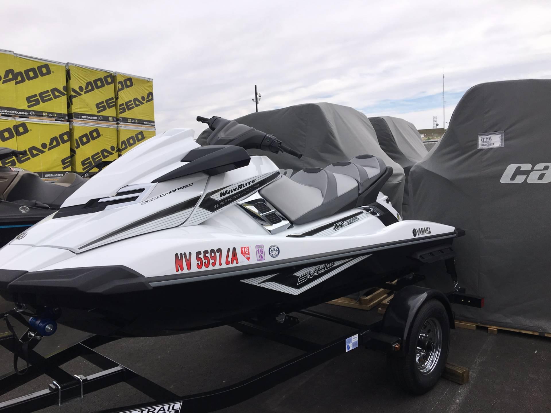 2016 Yamaha FX Cruiser SVHO 2