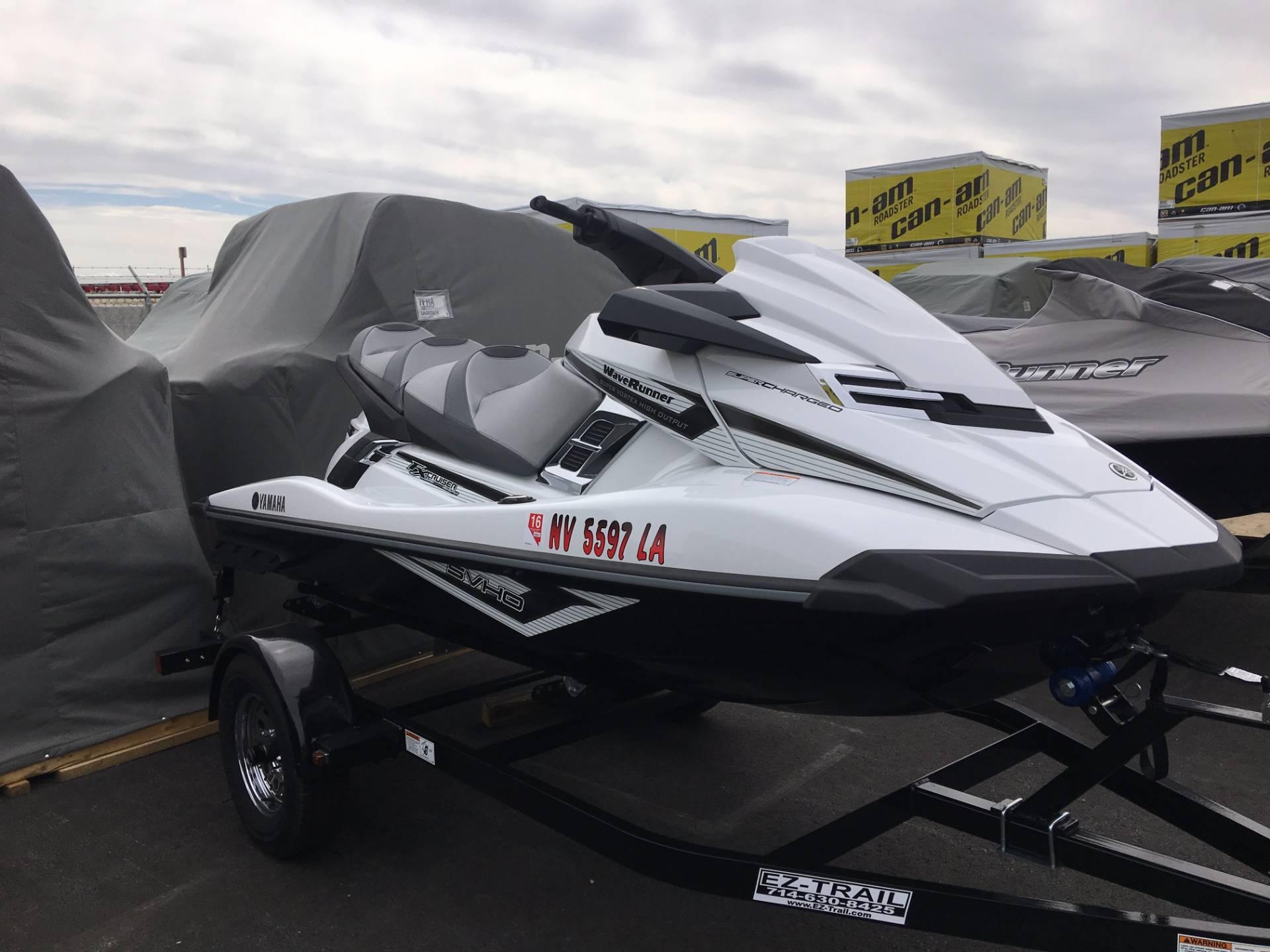 2016 Yamaha FX Cruiser SVHO 3