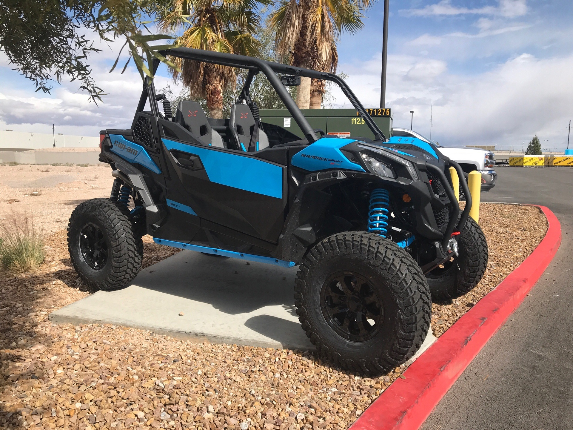 2019 Can-Am Maverick Sport X RC 1000R in Las Vegas, Nevada