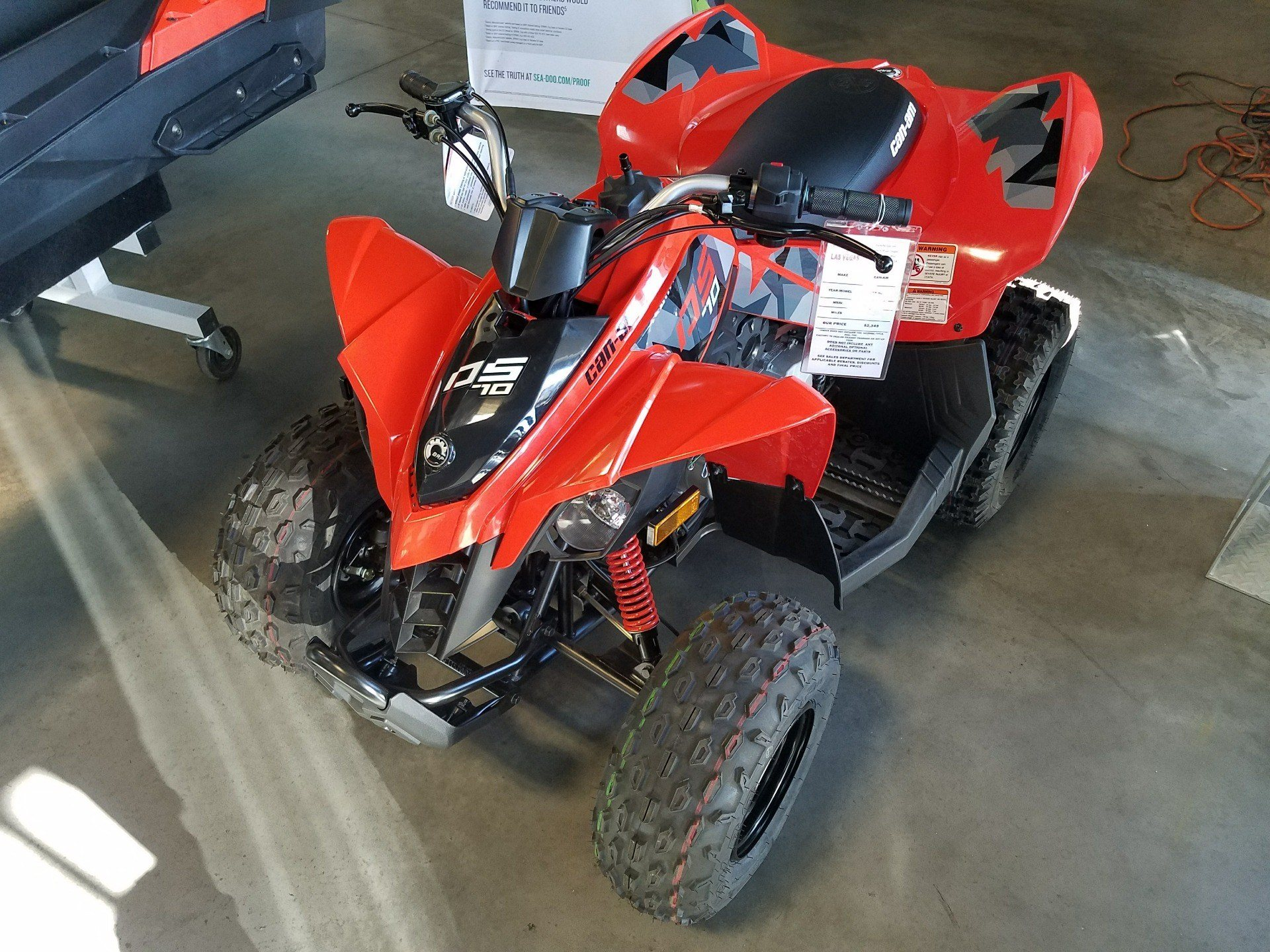 2018 Can-Am DS 70 in Las Vegas, Nevada