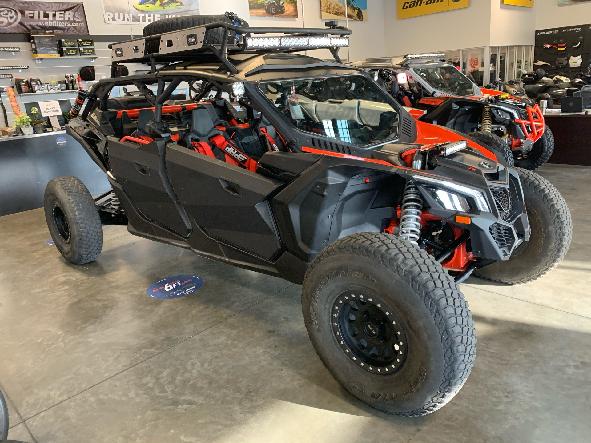 2018 Can-Am Maverick X3 Max X rs Turbo R in Las Vegas, Nevada - Photo 6