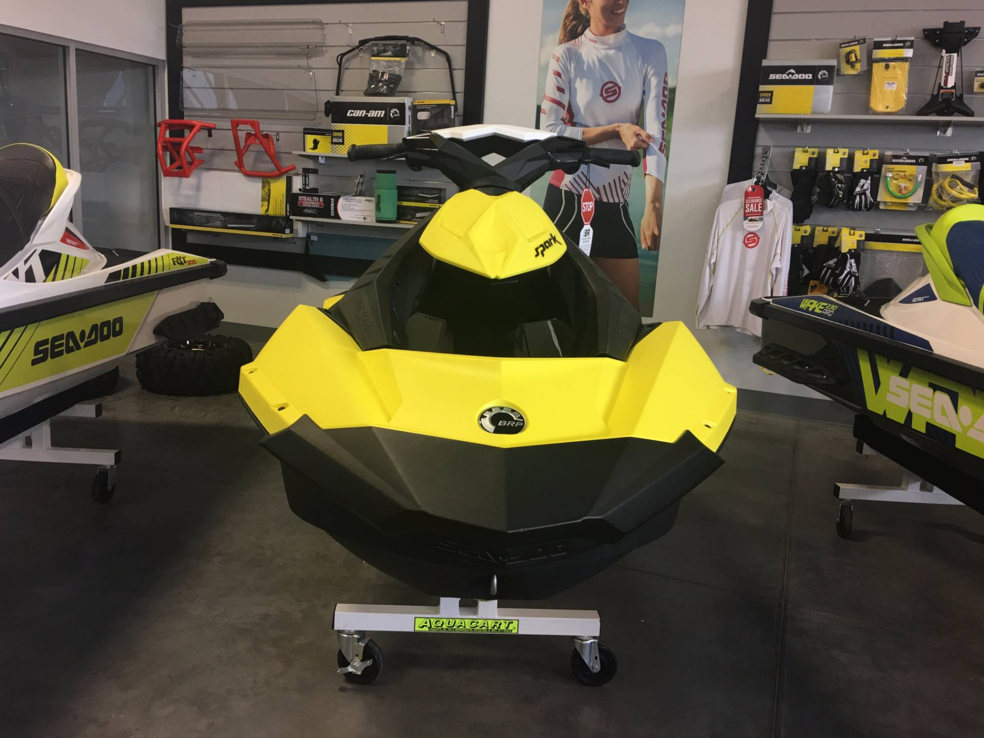 2015 Sea-Doo Spark™ 3up 900 H.O. ACE™ iBR Convenience Package in Las Vegas, Nevada