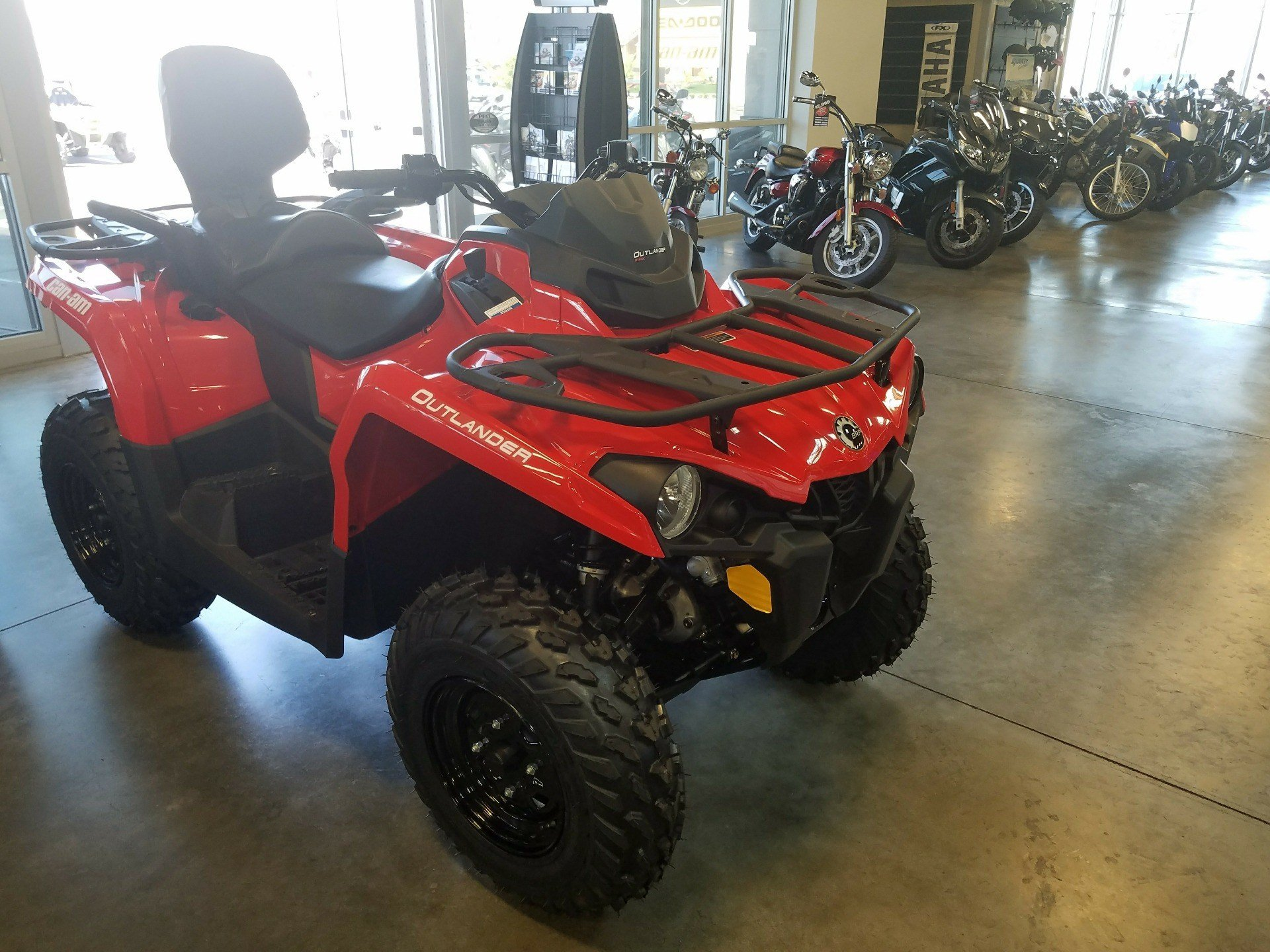 New 2018 Can Am Outlander MAX 450 ATVs in Las Vegas NV