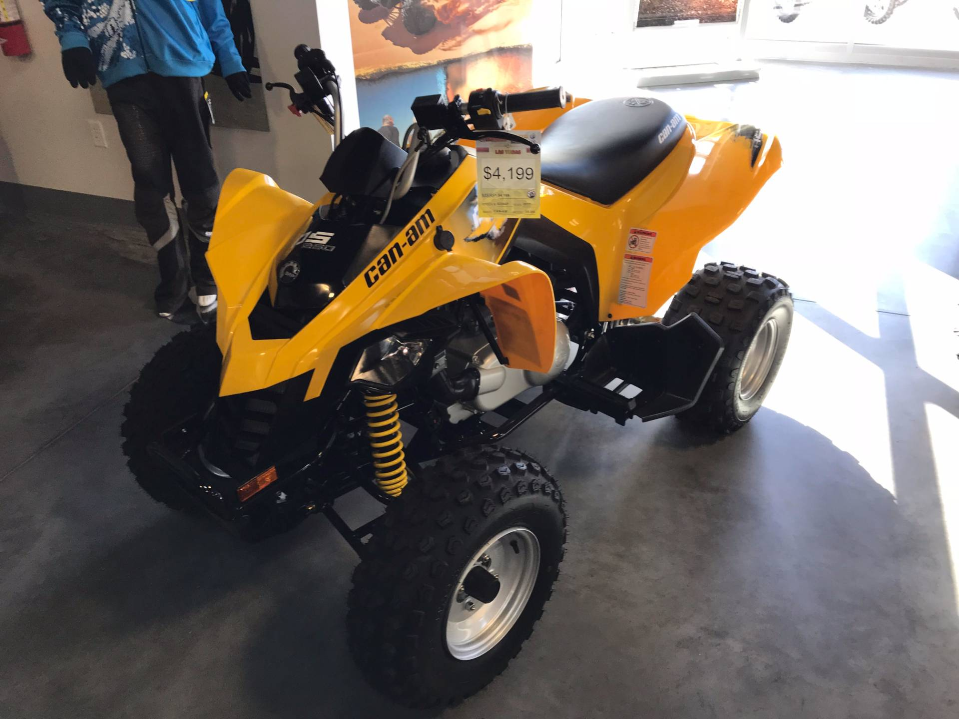 2017 Can-Am DS 250 in Las Vegas, Nevada