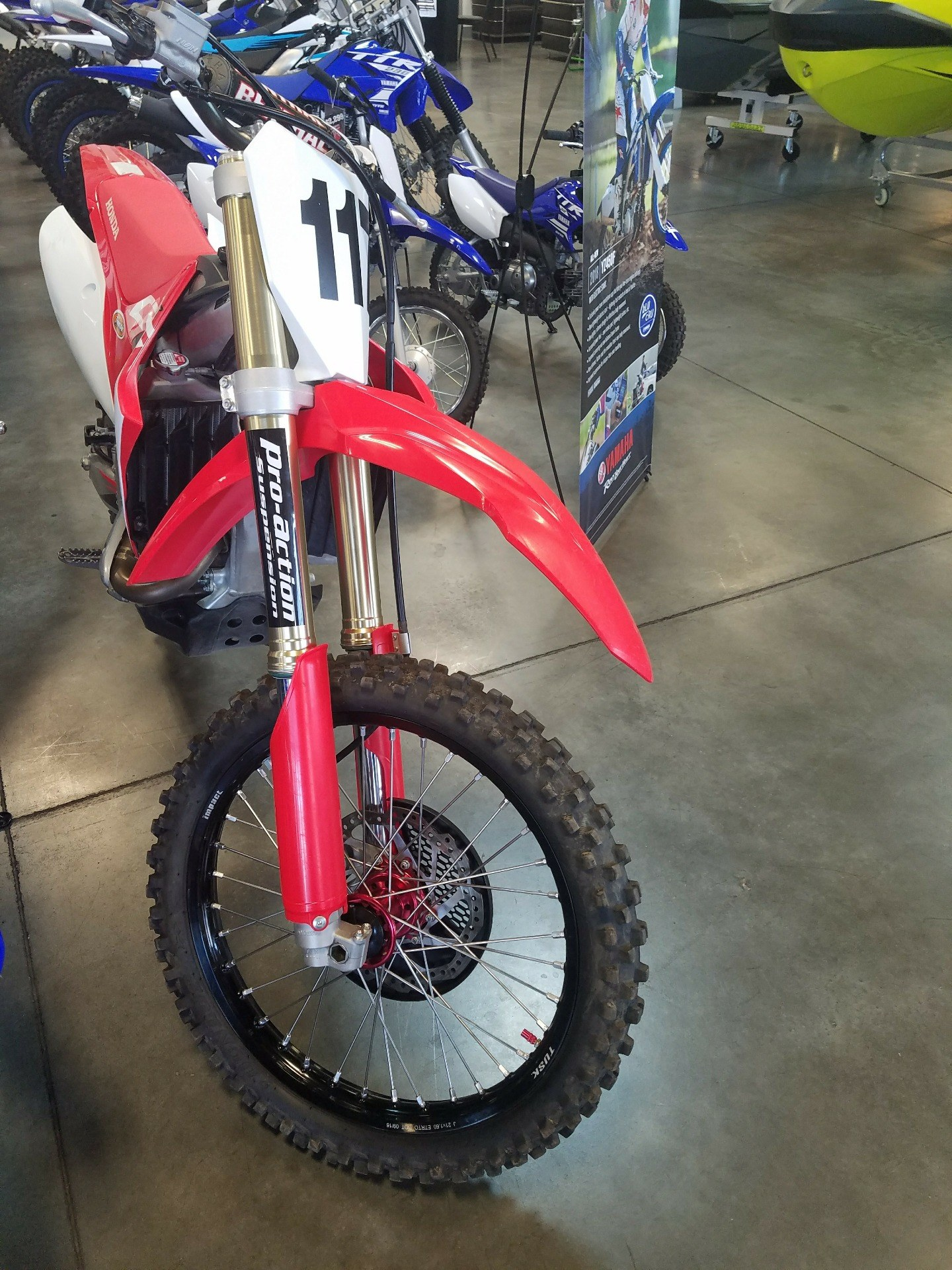 2017 Honda CRF450R in Las Vegas, Nevada