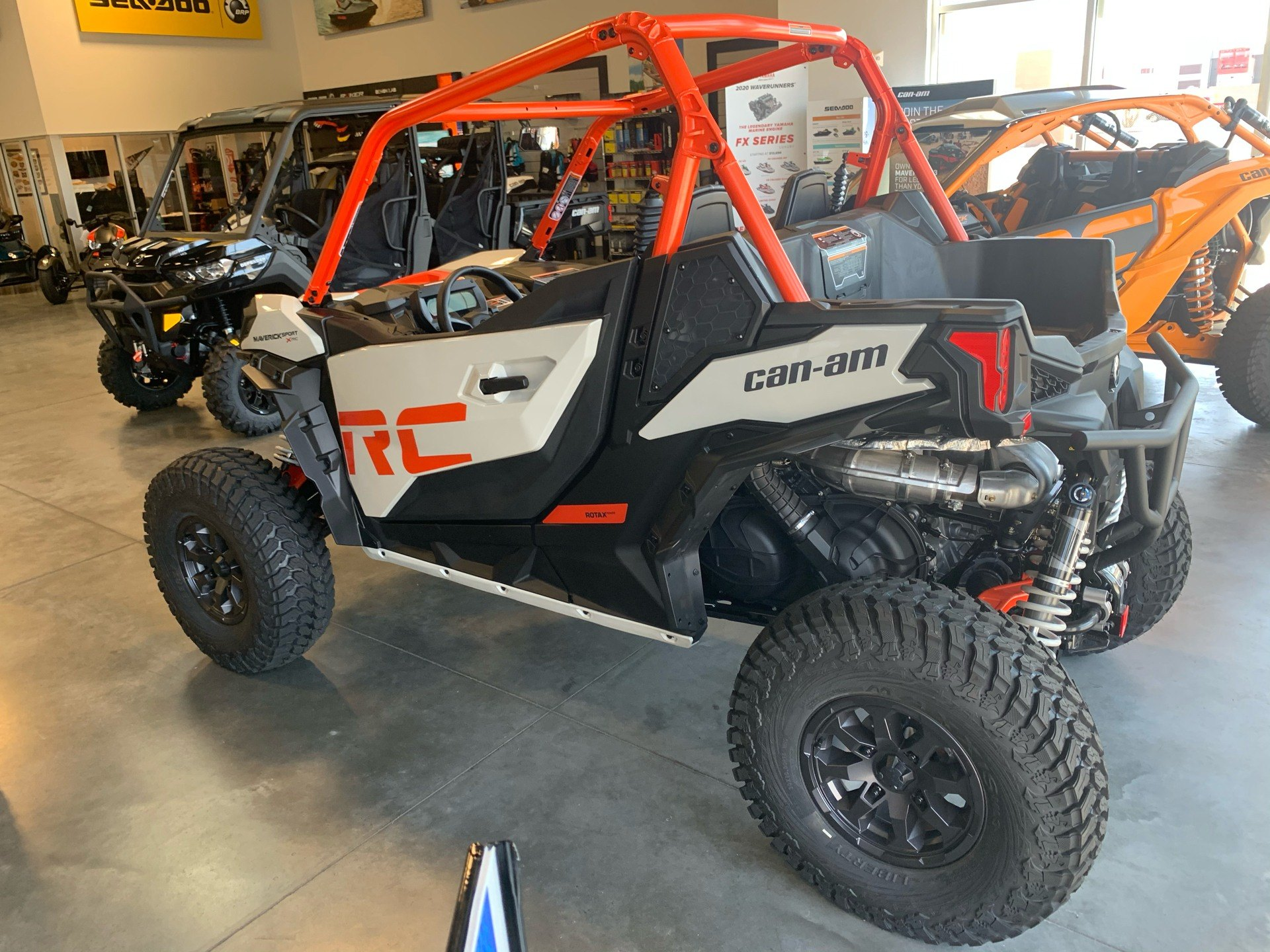 2021 Can-Am Maverick Sport X RC 1000R in Las Vegas, Nevada - Photo 4