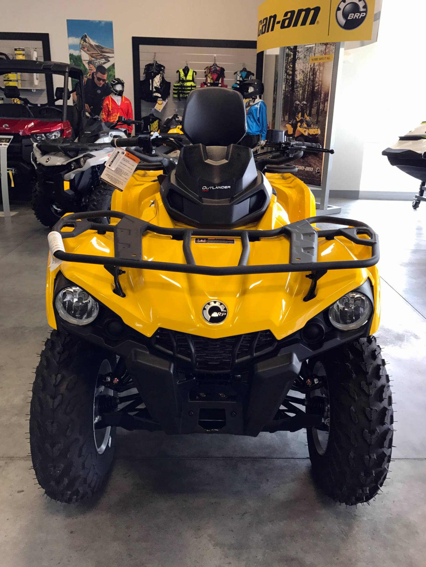 2017 Can-Am Outlander MAX DPS 450 in Las Vegas, Nevada