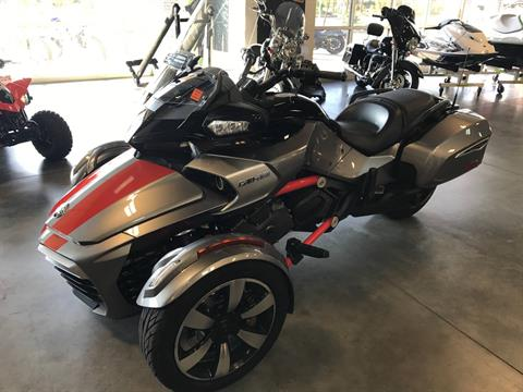 2016 Can-Am Spyder F3-T SE6 w/ Audio System in Las Vegas, Nevada
