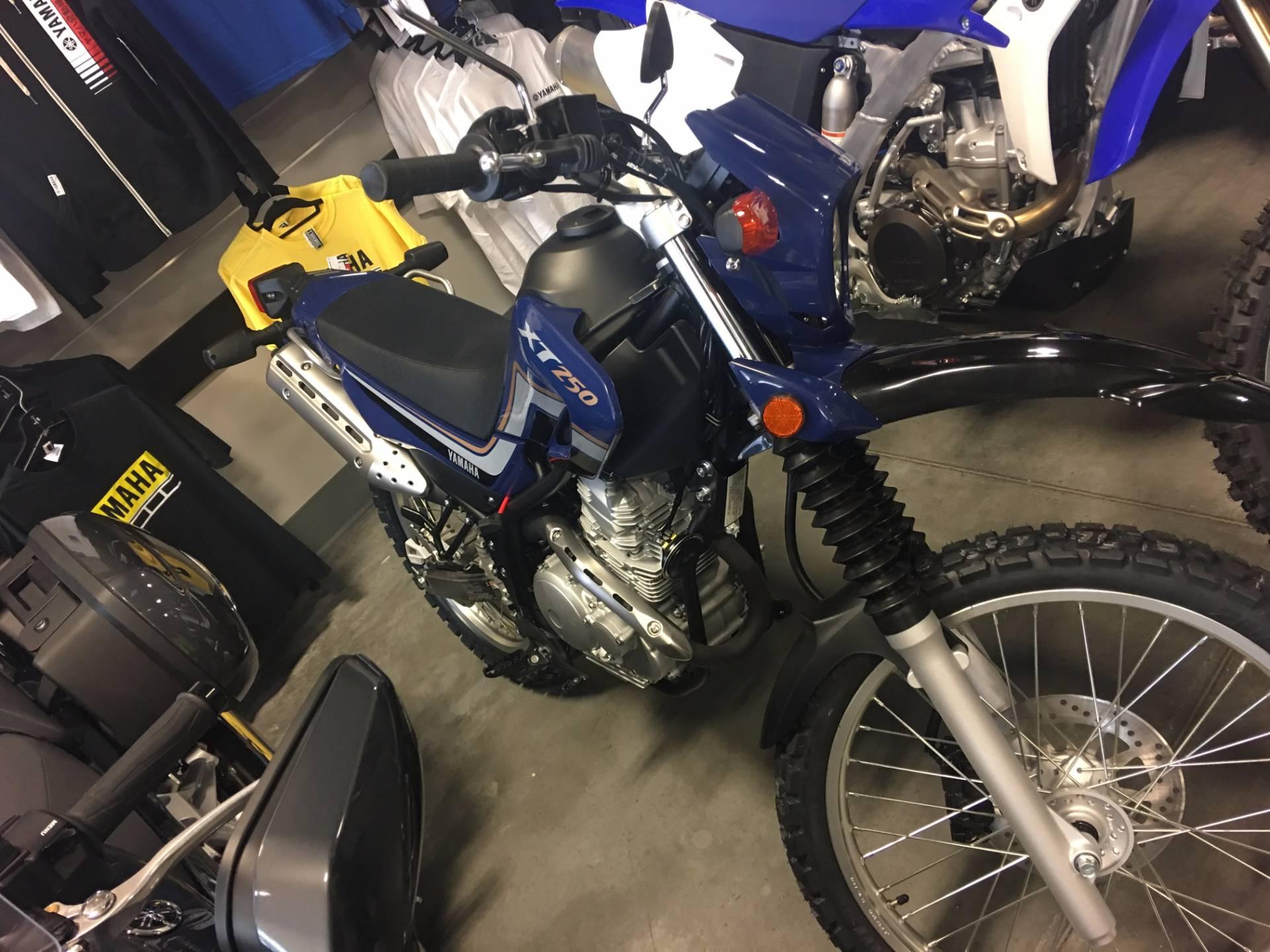 2017 Yamaha XT250 4