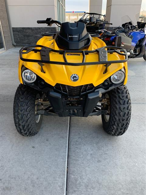 2016 Can-Am Outlander L DPS 450 in Las Vegas, Nevada
