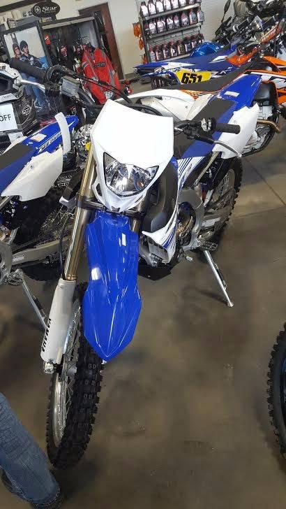 2017 Yamaha WR450F in Las Vegas, Nevada