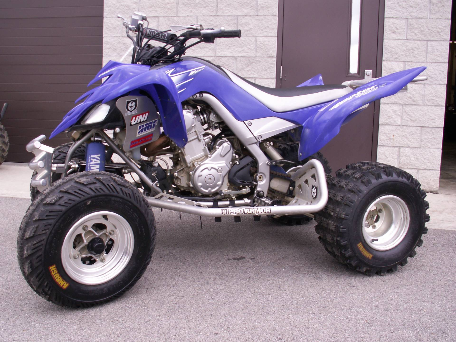 2007 Yamaha Raptor 700R SE in Hermitage, Pennsylvania