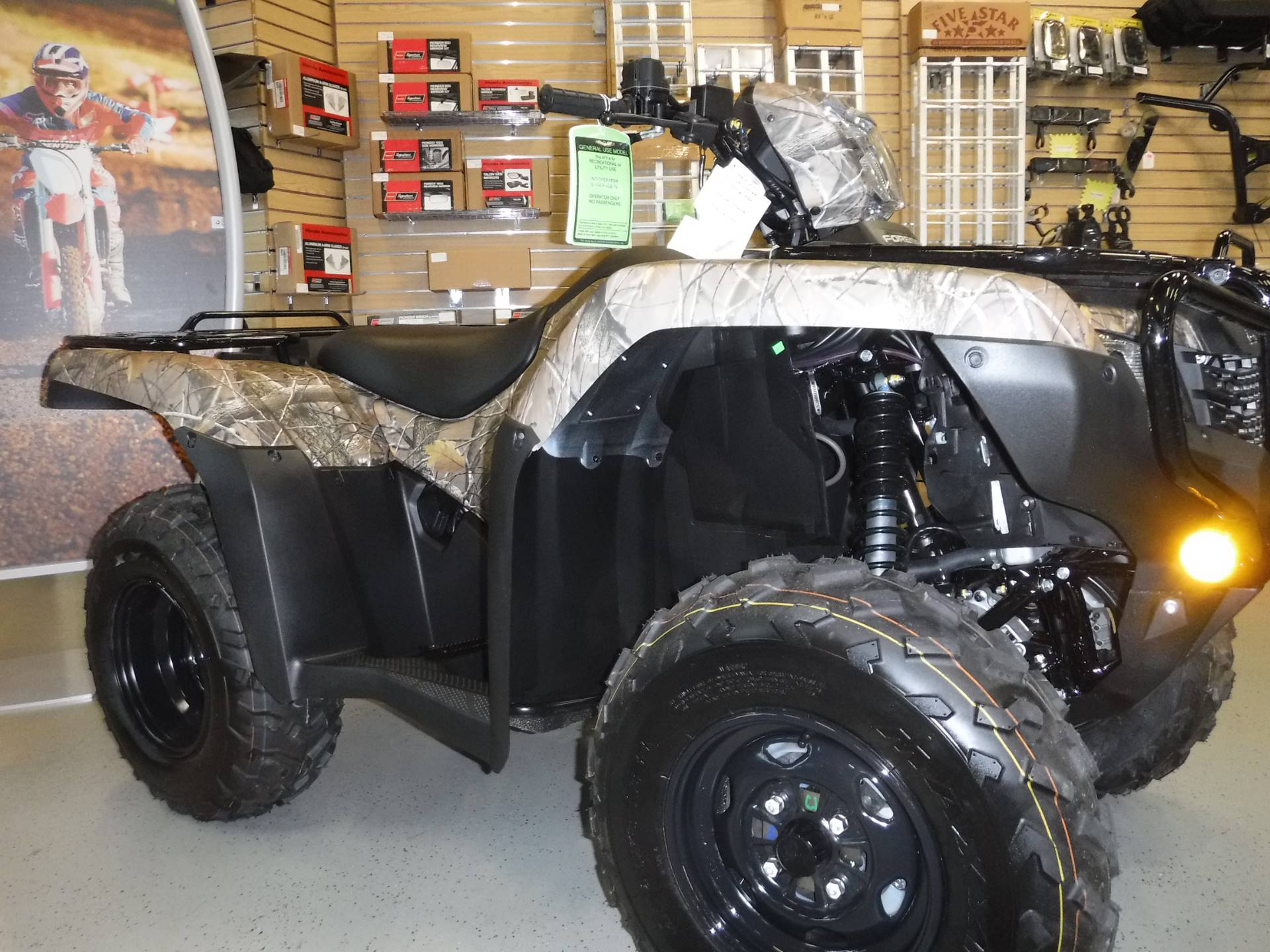 2020 Honda FourTrax Foreman 4x4 in Hermitage, Pennsylvania - Photo 2