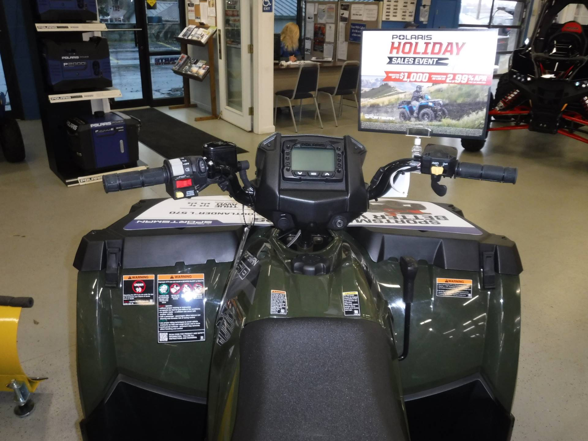 2018 Polaris Sportsman 570 1