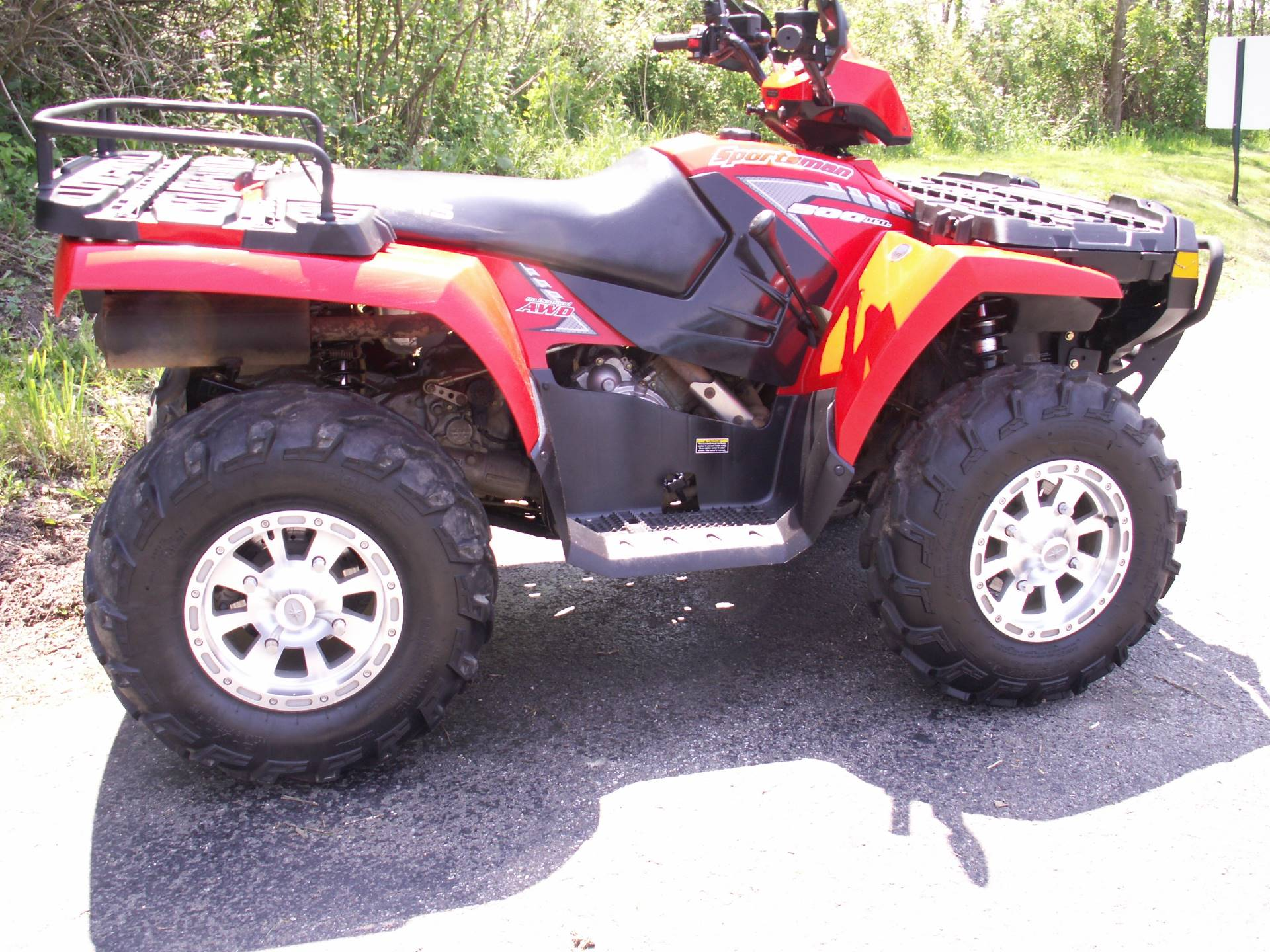 2005 Polaris Sportsman 500 H.O. in Hermitage, Pennsylvania