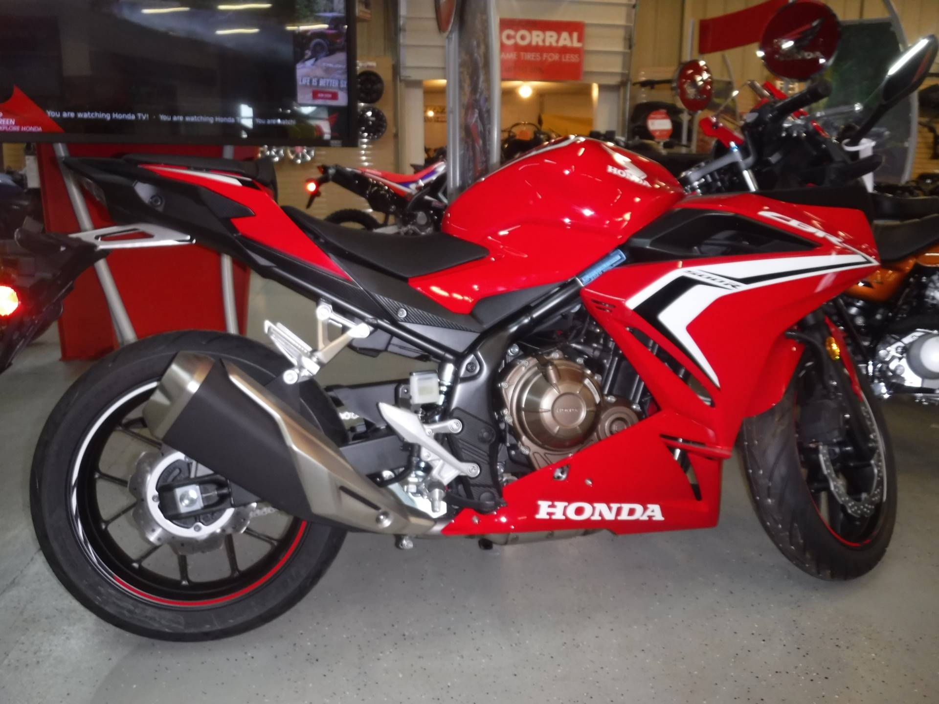 2020 Honda CBR500R in Hermitage, Pennsylvania - Photo 1