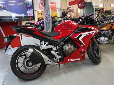 2020 Honda CBR500R in Hermitage, Pennsylvania - Photo 2