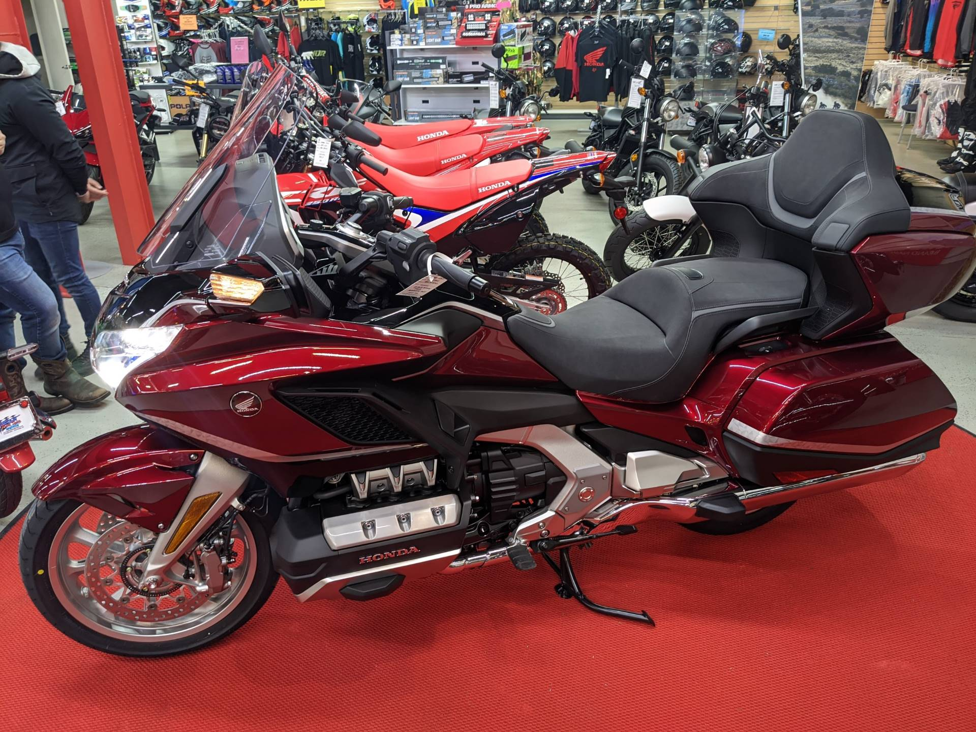2021 Honda Gold Wing Tour Automatic DCT in Hermitage, Pennsylvania - Photo 1