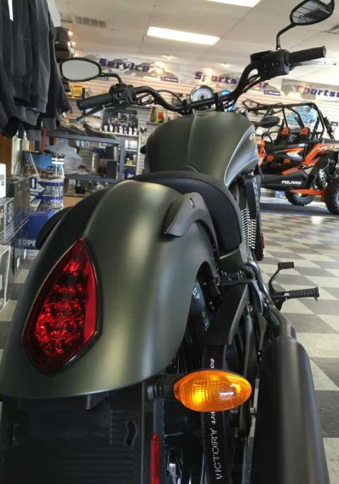 2016 Victory Gunner Suede Green Metallic in Red Wing, Minnesota