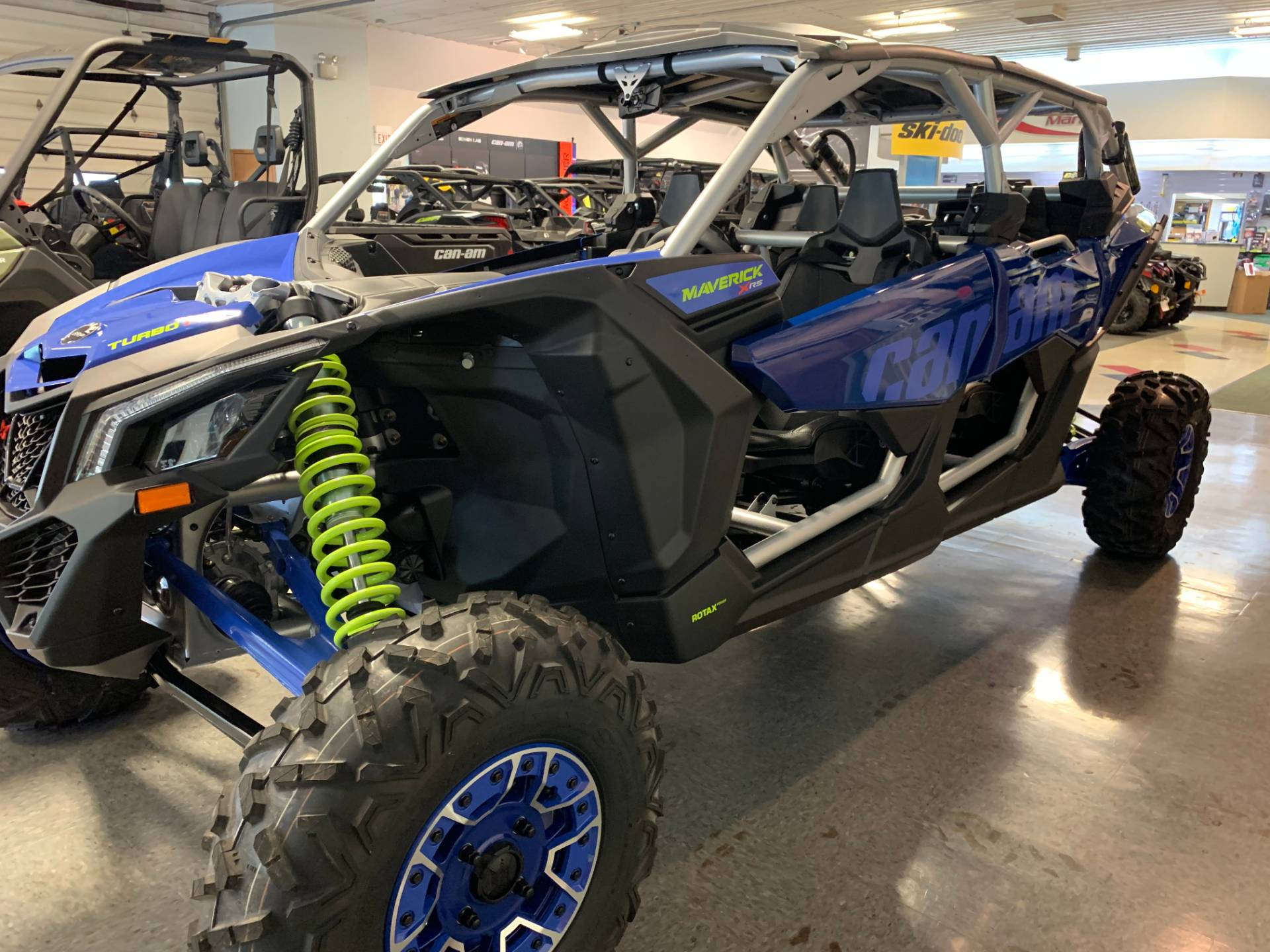 2020 Can-Am Maverick X3 MAX X RS Turbo RR in Wilmington, Illinois - Photo 10
