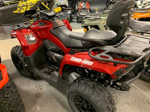 2019 Can-Am Outlander MAX XT 570 in Wilmington, Illinois - Photo 2