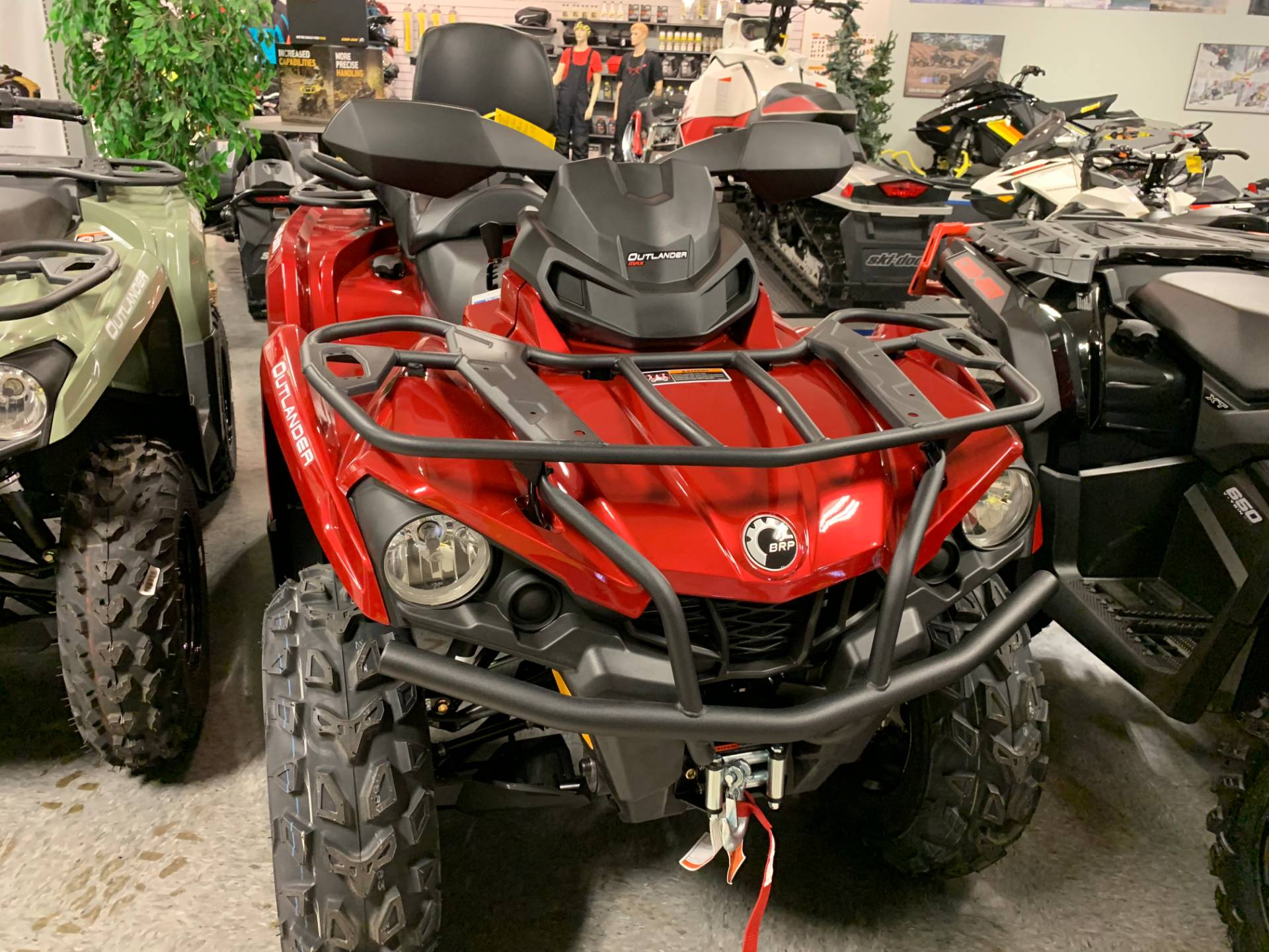 2019 Can-Am Outlander MAX XT 570 in Wilmington, Illinois - Photo 6