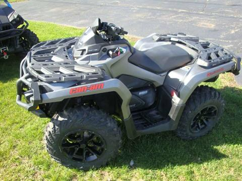 2017 Can-Am Outlander XT 650 in Wilmington, Illinois