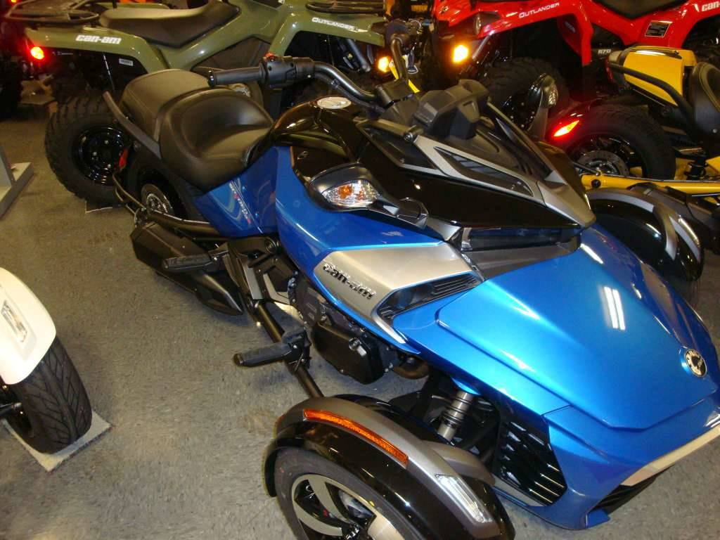 2017 Can-Am Spyder F3-S SE6 in Wilmington, Illinois