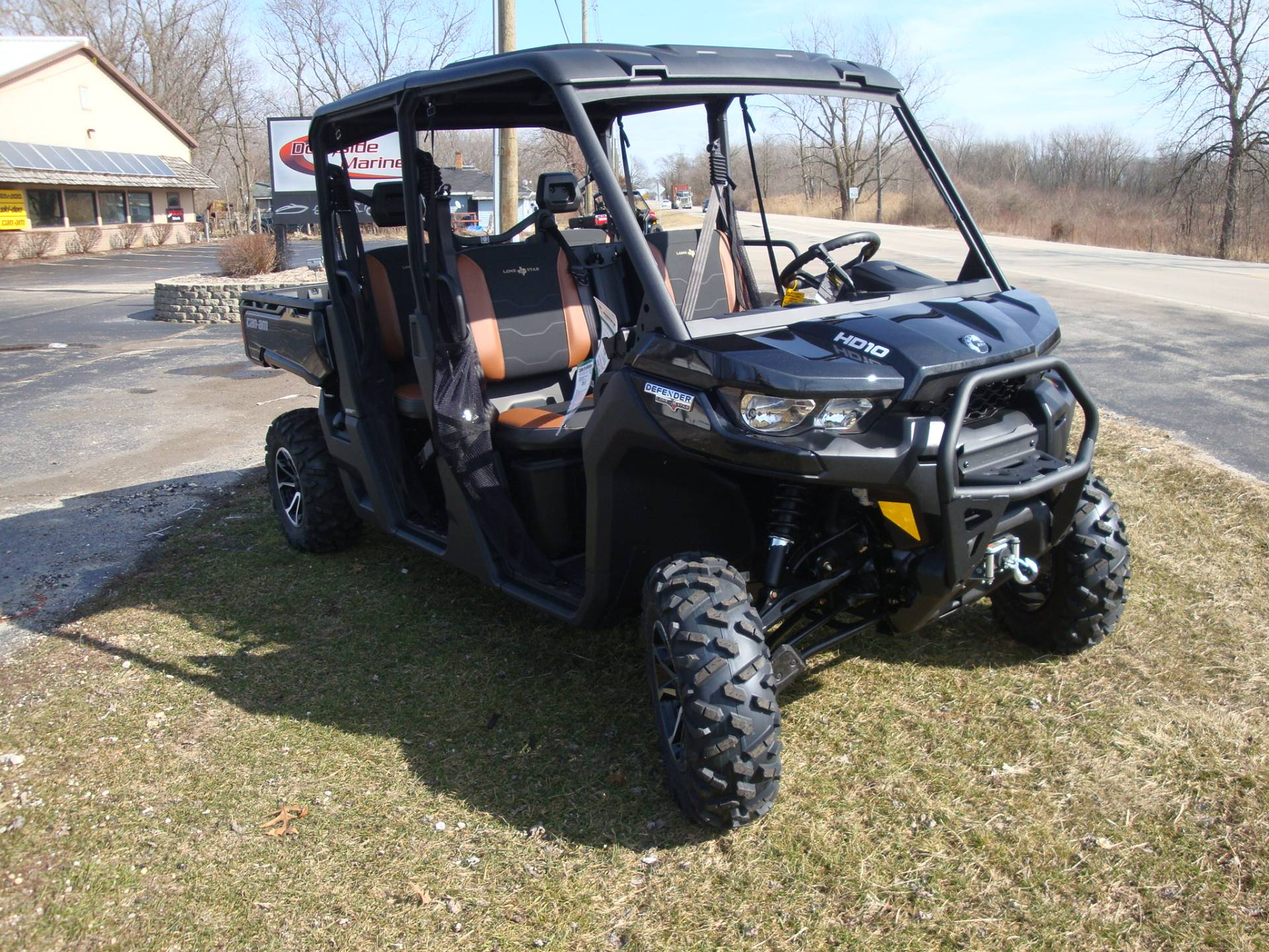 2018 Can-Am Defender MAX LONE STAR HD10 in Wilmington, Illinois