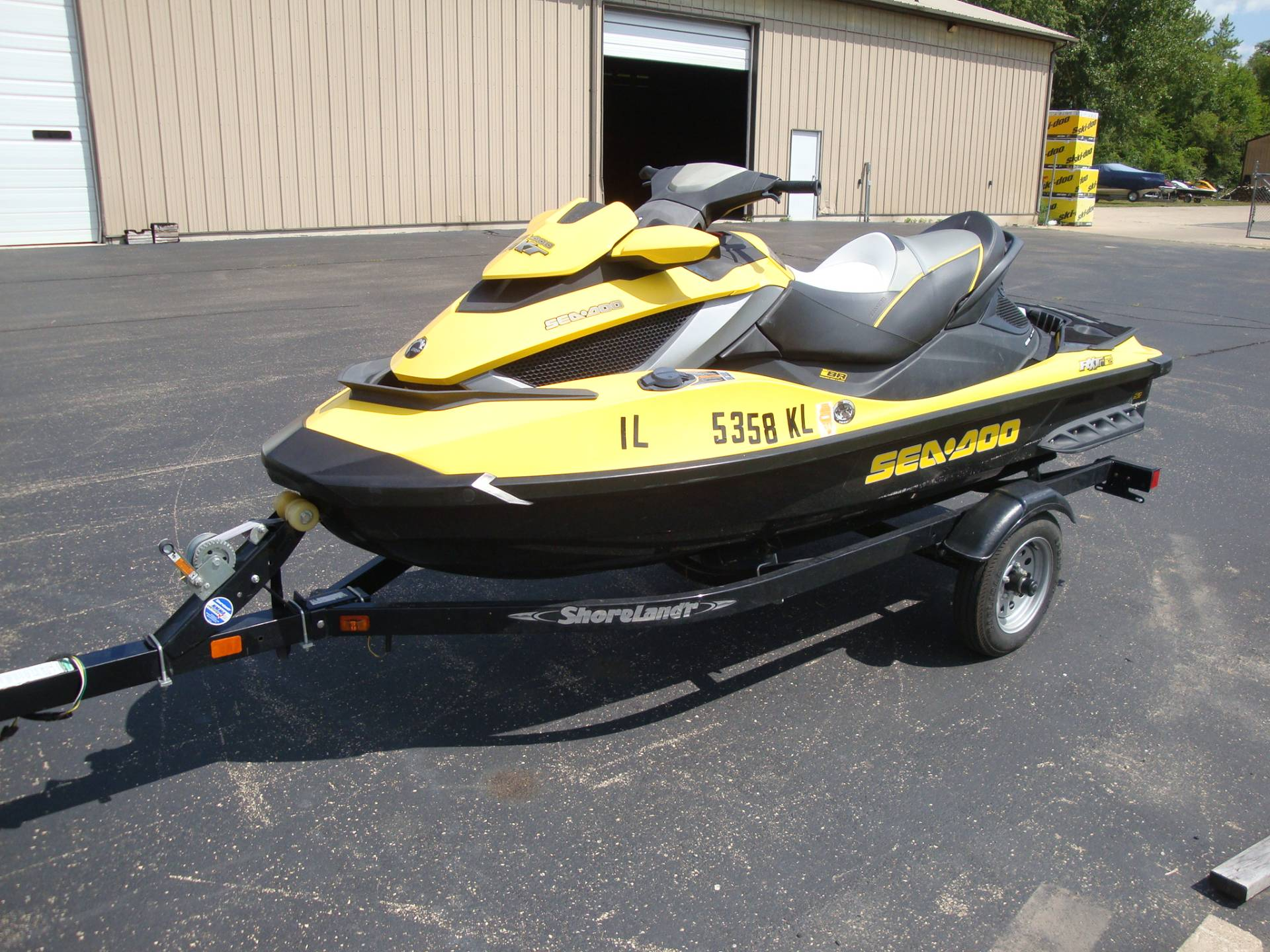 2011 Sea-Doo RXT® iS™ 260 in Wilmington, Illinois - Photo 1