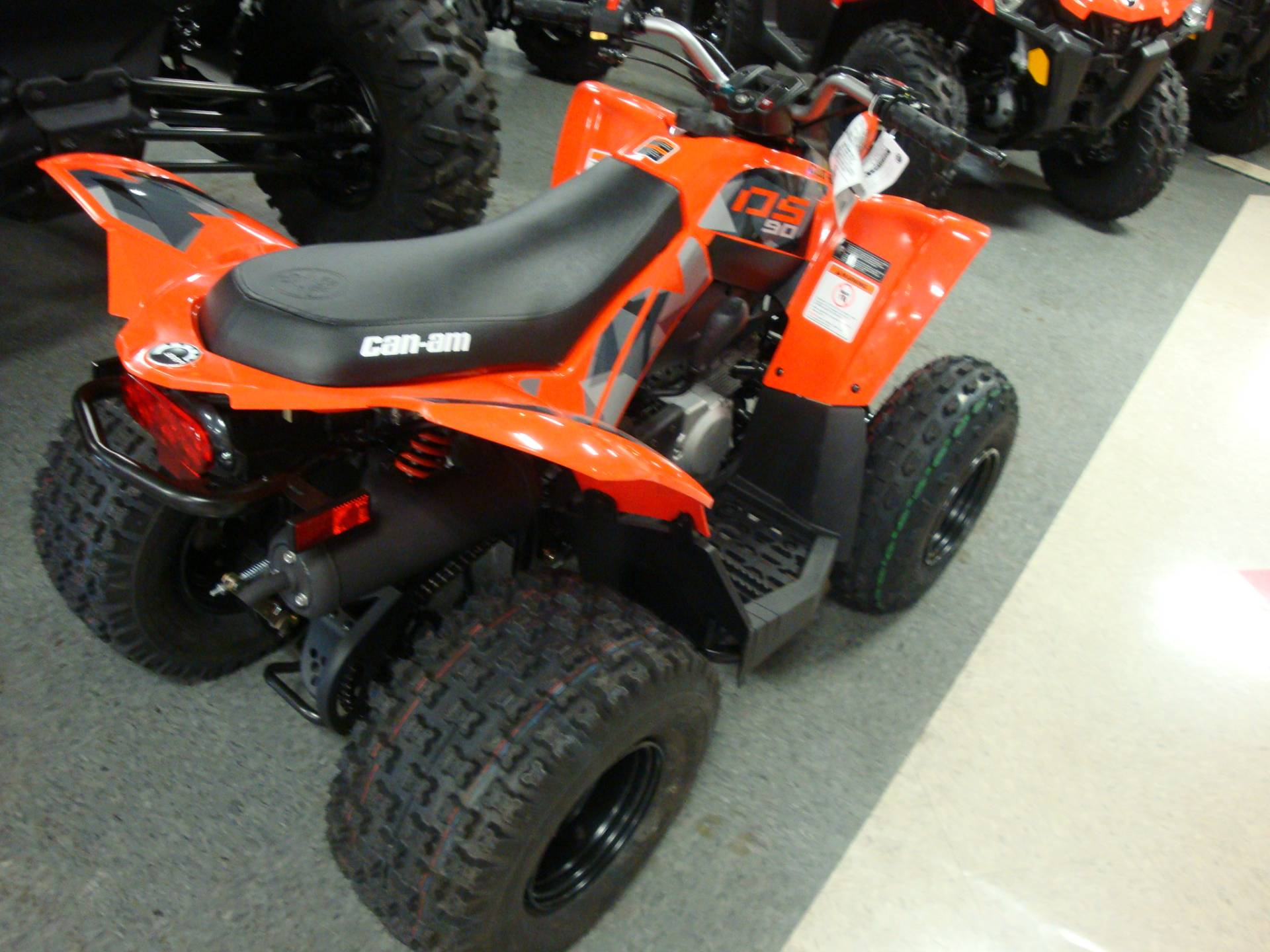 2019 Can-Am DS 90 in Wilmington, Illinois - Photo 3
