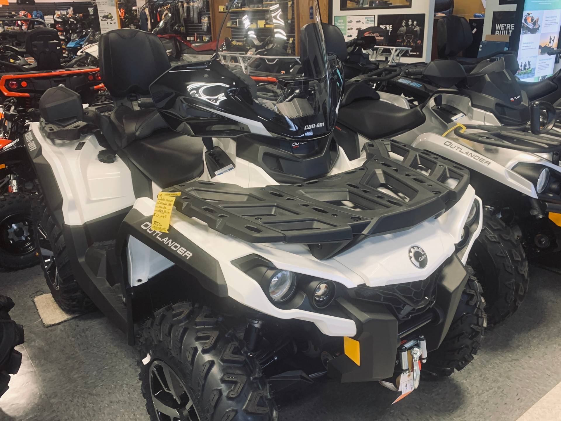 2020 Can-Am Outlander Max North Edition 850 in Wilmington, Illinois - Photo 3