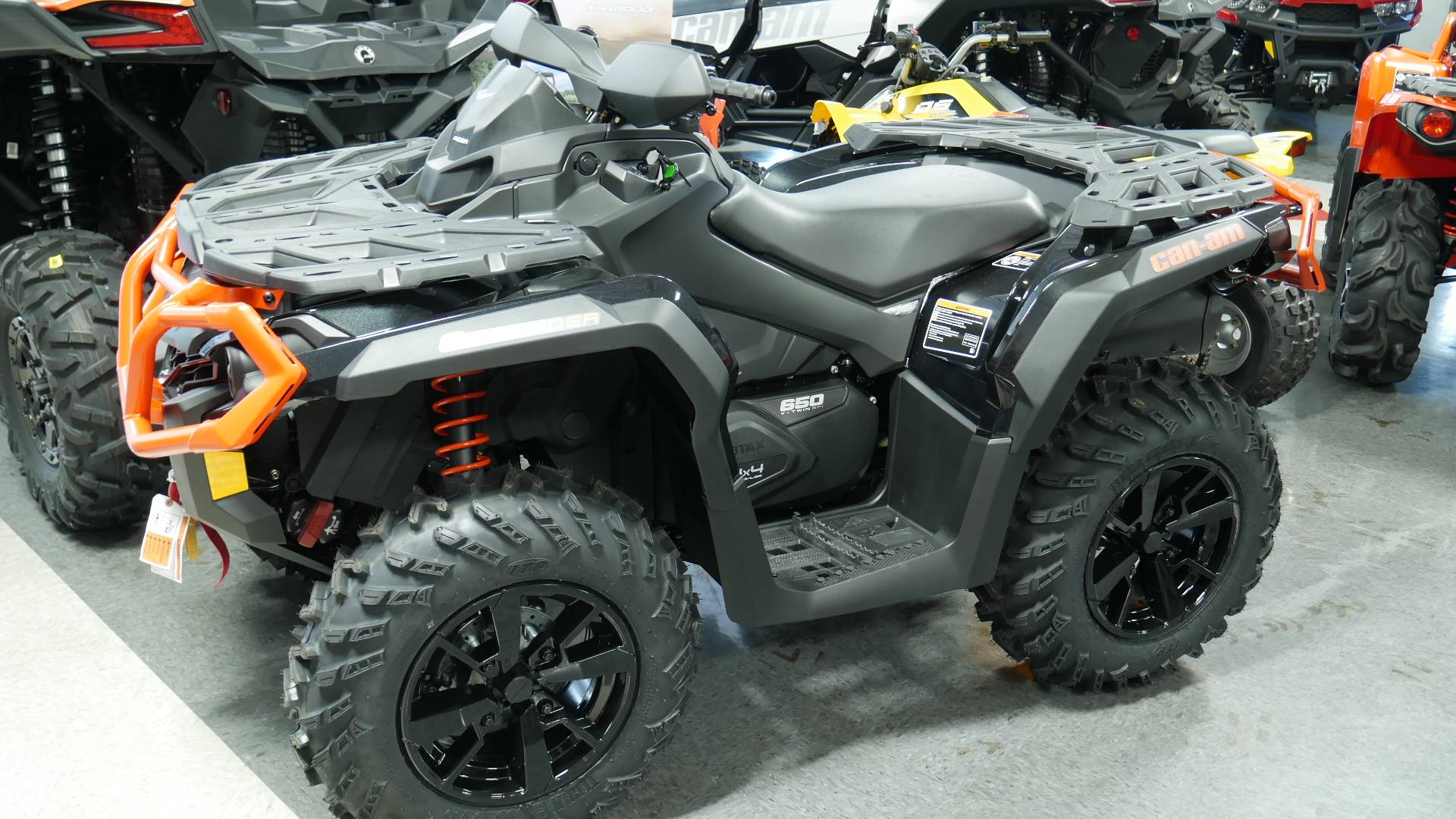 new 2019 can am outlander xt 650 atvs in wilmington il. Black Bedroom Furniture Sets. Home Design Ideas