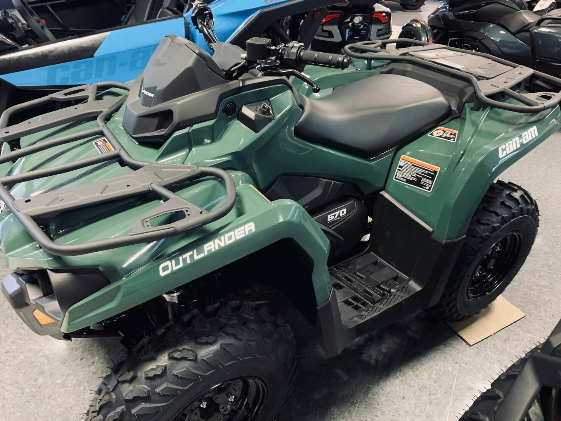 2021 Can-Am Outlander DPS 570 in Wilmington, Illinois - Photo 1