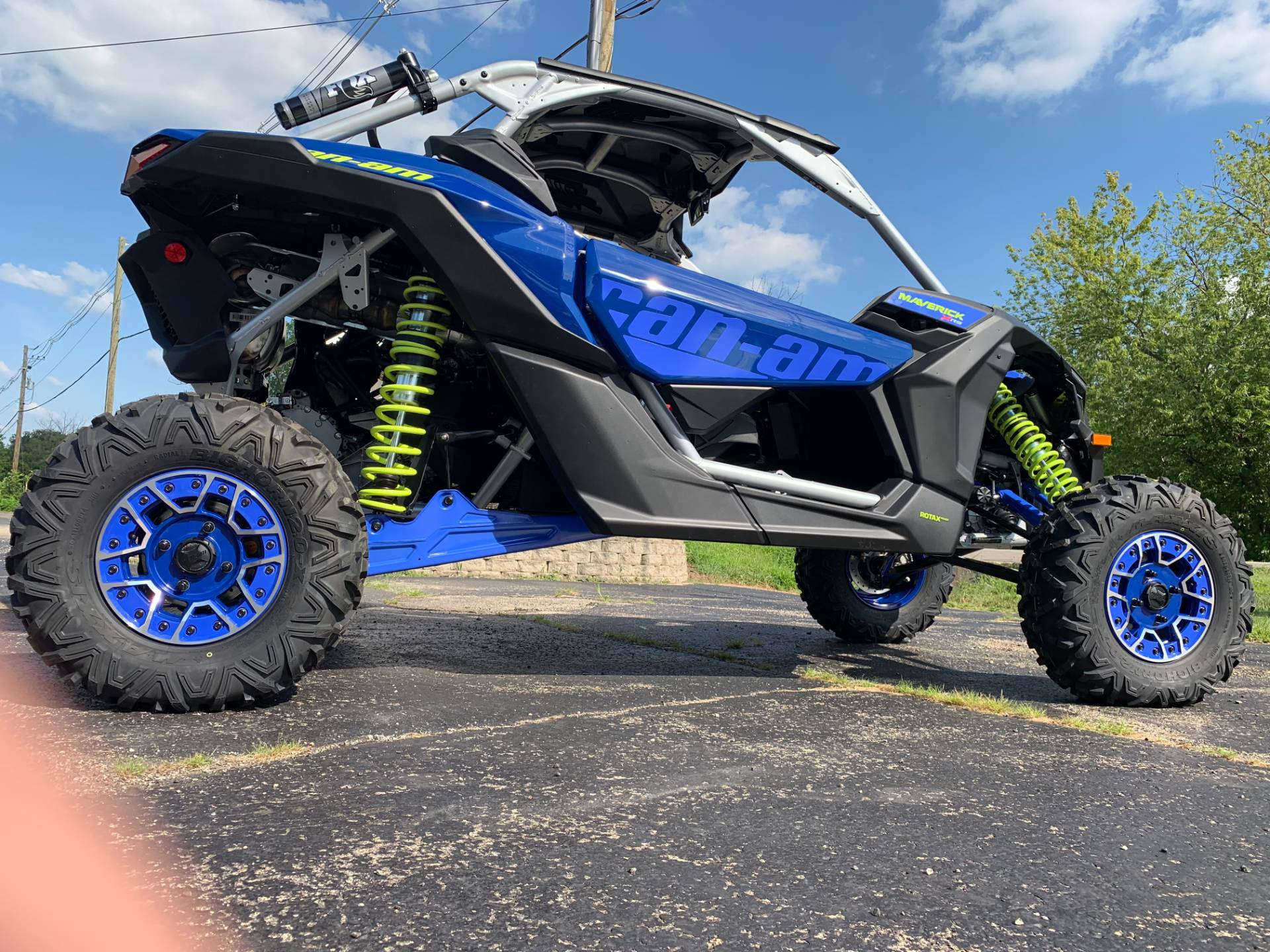 2020 Can-Am Maverick X3 X RS Turbo RR in Wilmington, Illinois - Photo 9