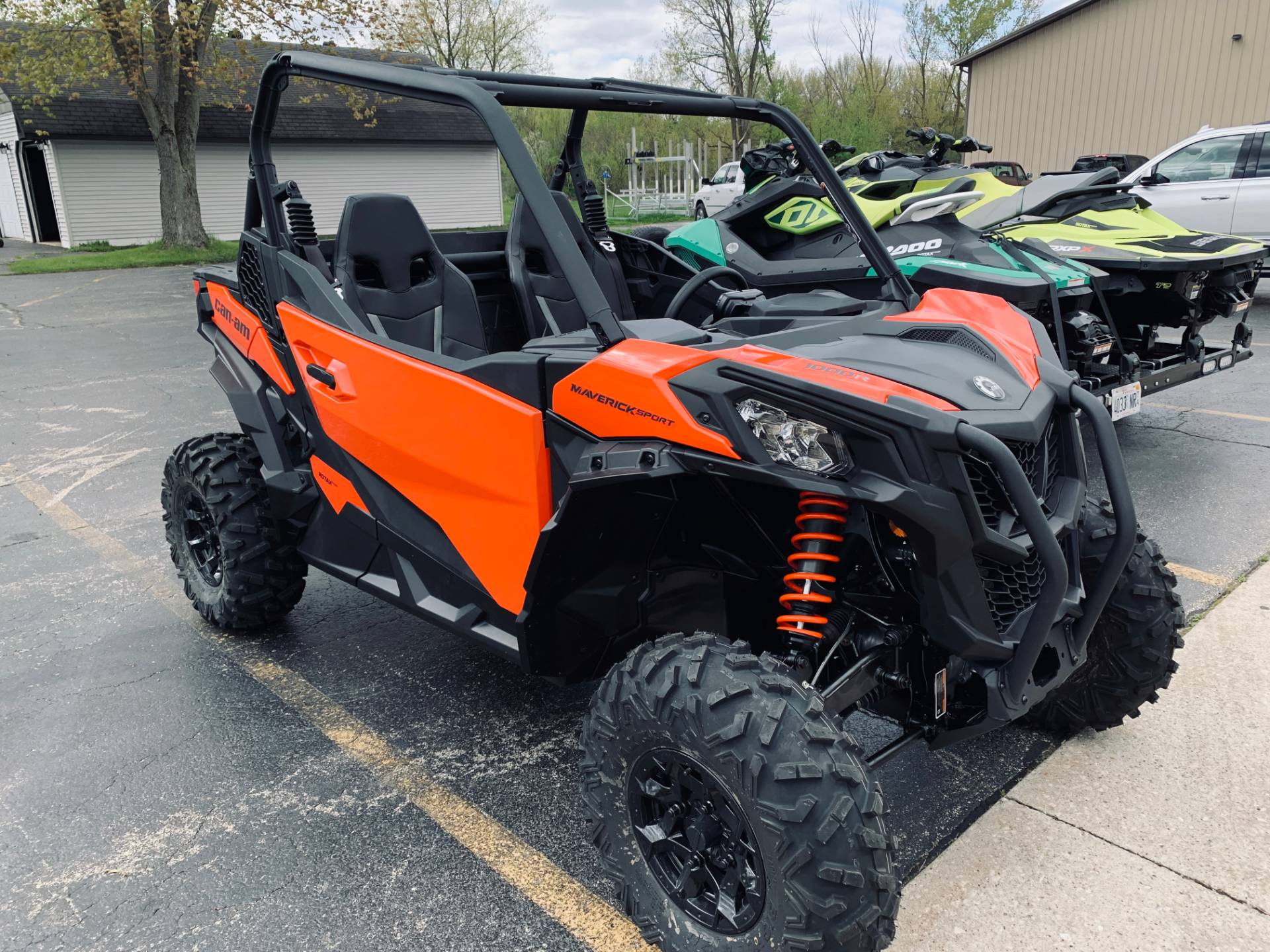 2020 Can-Am Maverick Sport DPS 1000R in Wilmington, Illinois - Photo 1