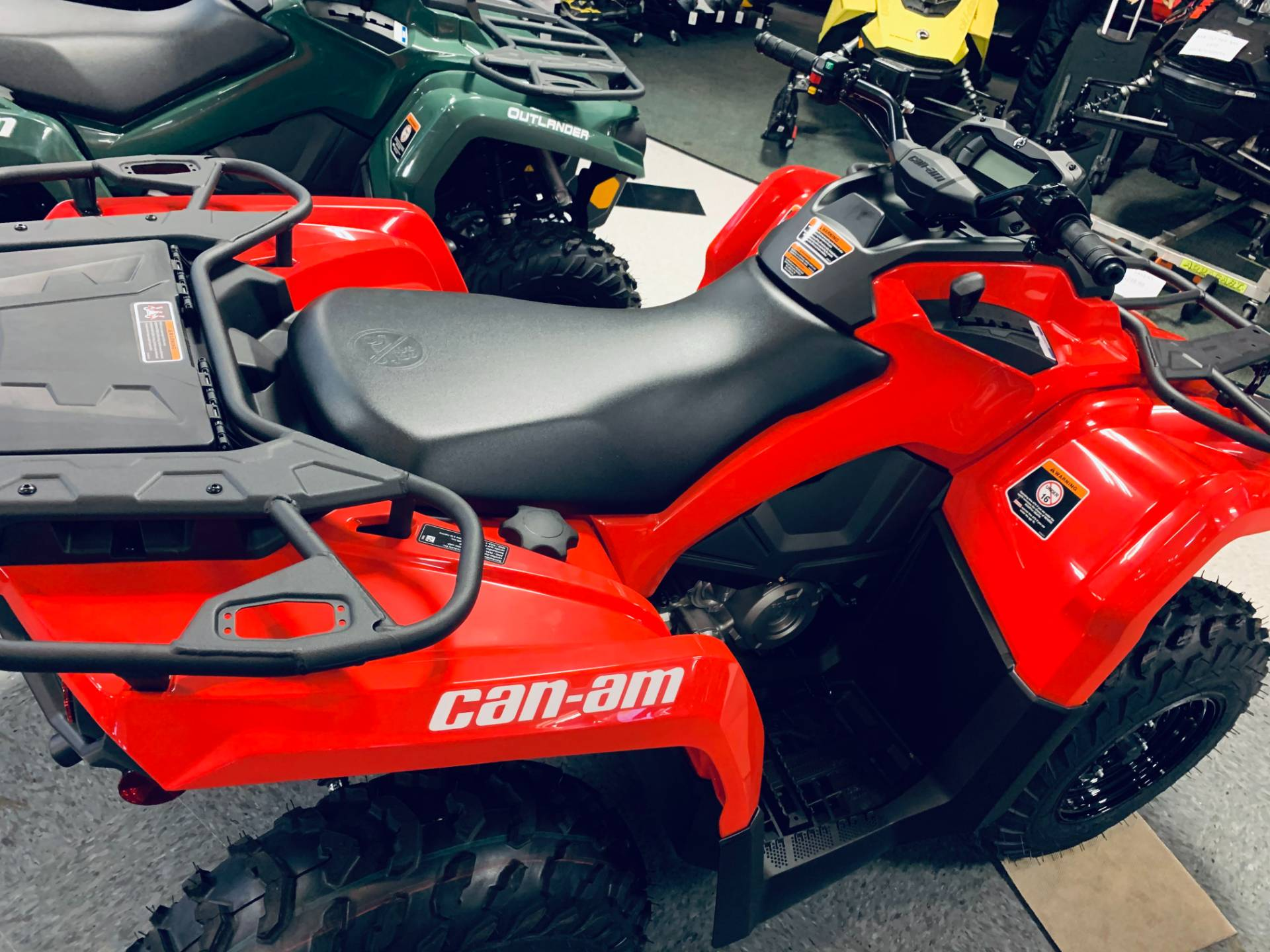2021 Can-Am Outlander 450 in Wilmington, Illinois - Photo 3