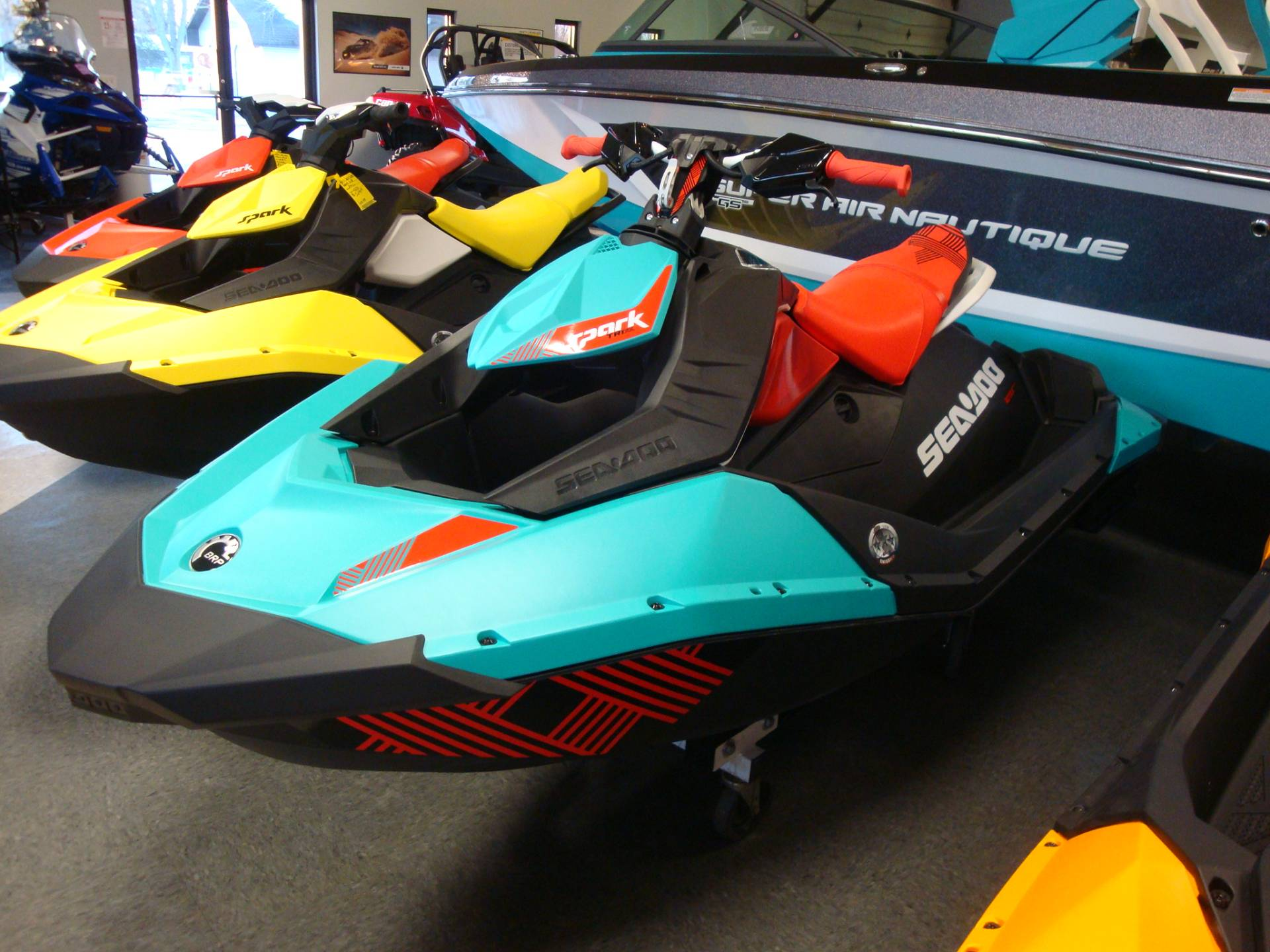 2018 Sea-Doo SPARK 2UP TRIXX in Wilmington, Illinois