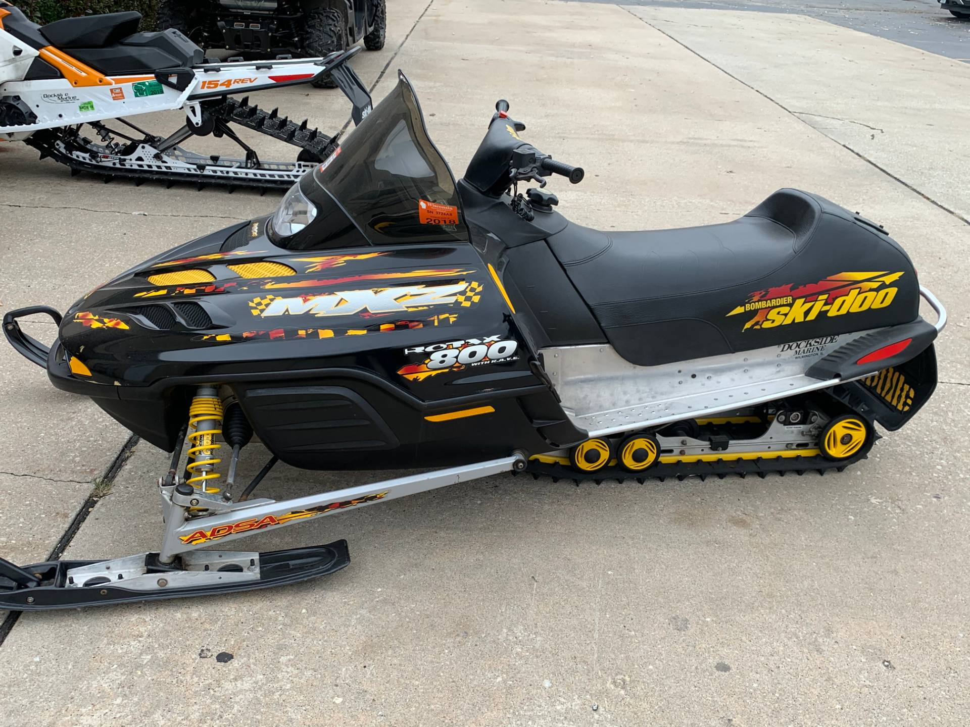 2001 Ski-Doo MX Z - Adrenaline 800 in Wilmington, Illinois - Photo 1
