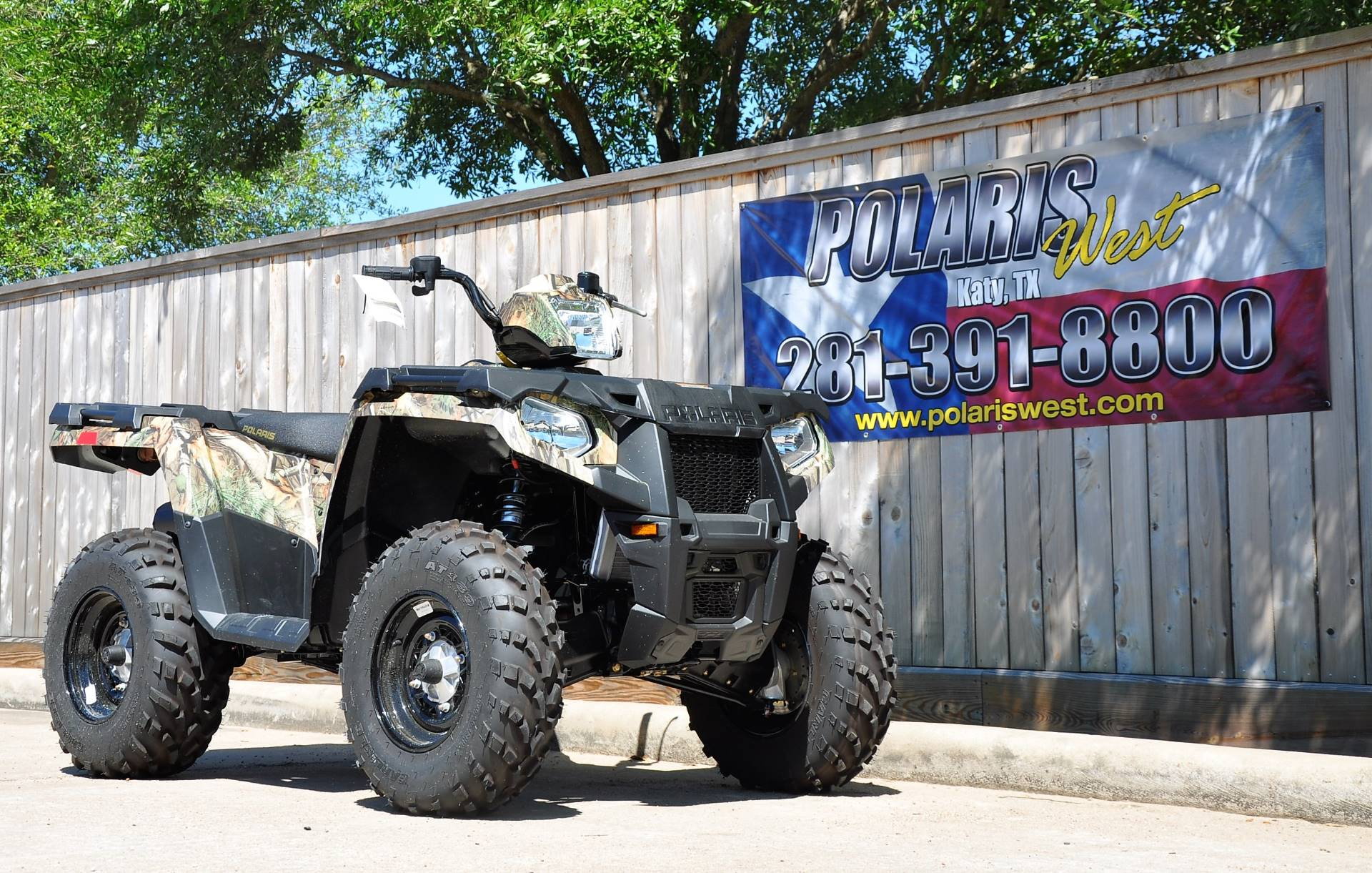 2019 Polaris Sportsman 570 Camo in Katy, Texas