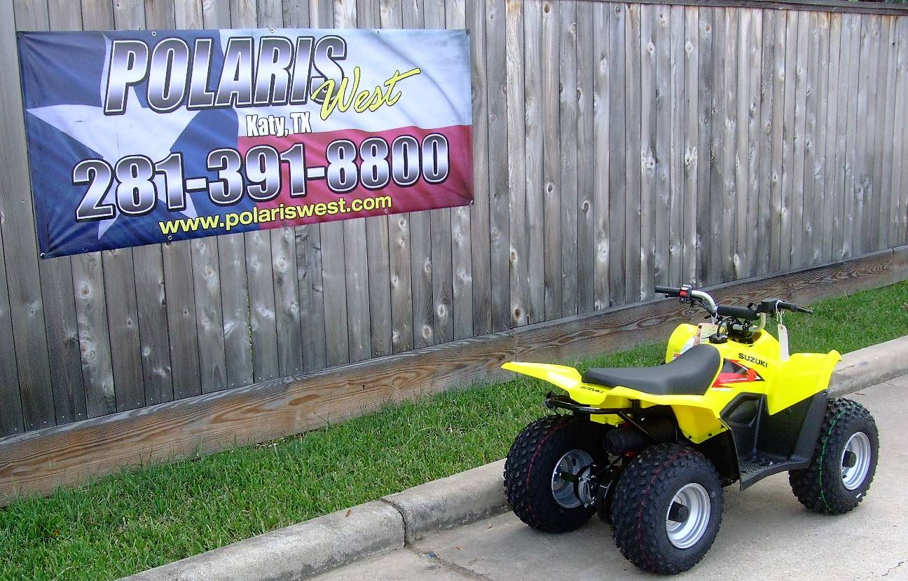 2019 Suzuki QuadSport Z50 in Katy, Texas - Photo 2