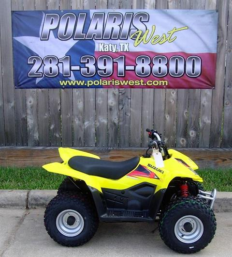 2019 Suzuki QuadSport Z50 in Katy, Texas - Photo 3