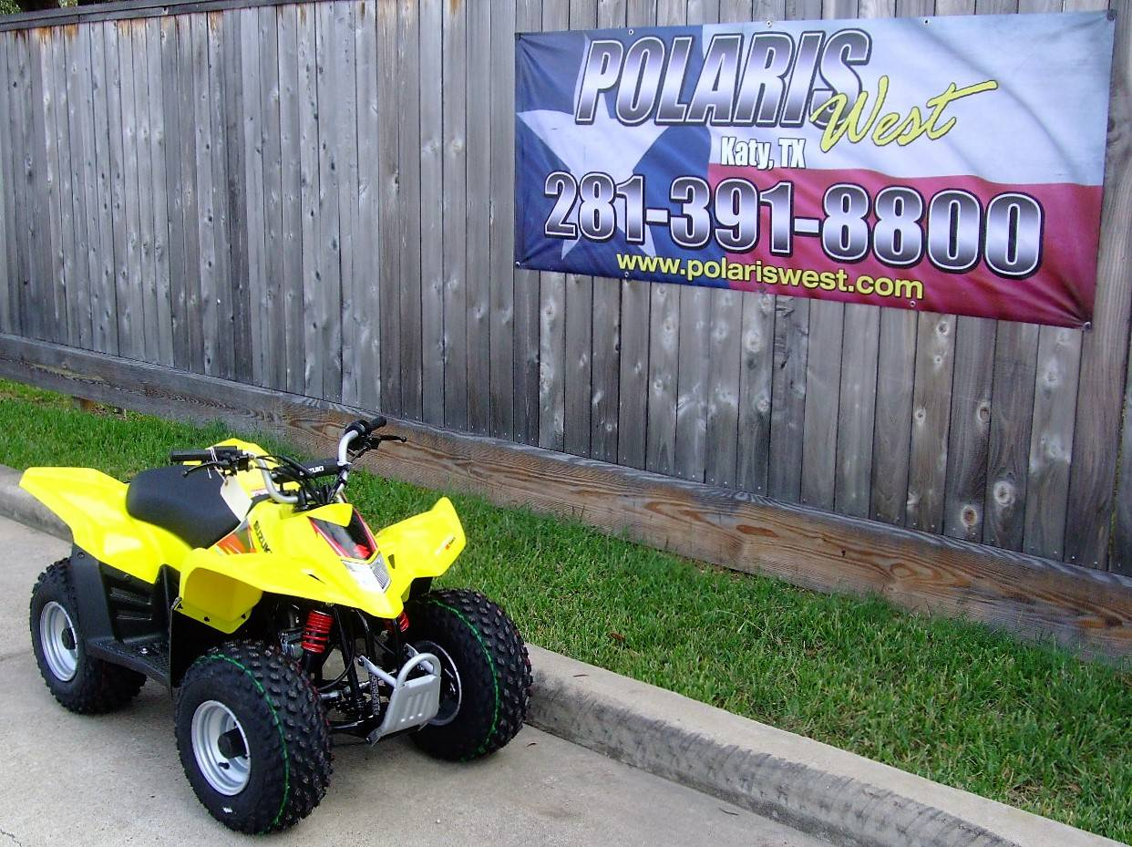 2019 Suzuki QuadSport Z50 in Katy, Texas - Photo 4