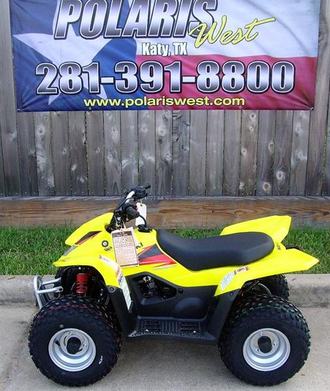 2019 Suzuki QuadSport Z50 in Katy, Texas - Photo 1