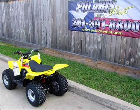 2019 Suzuki QuadSport Z50 in Katy, Texas - Photo 6