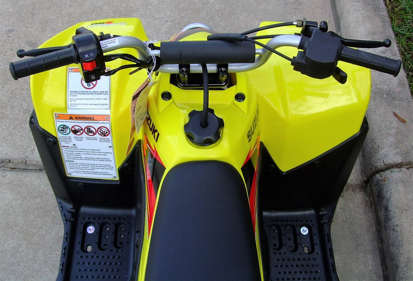 2019 Suzuki QuadSport Z50 in Katy, Texas - Photo 7