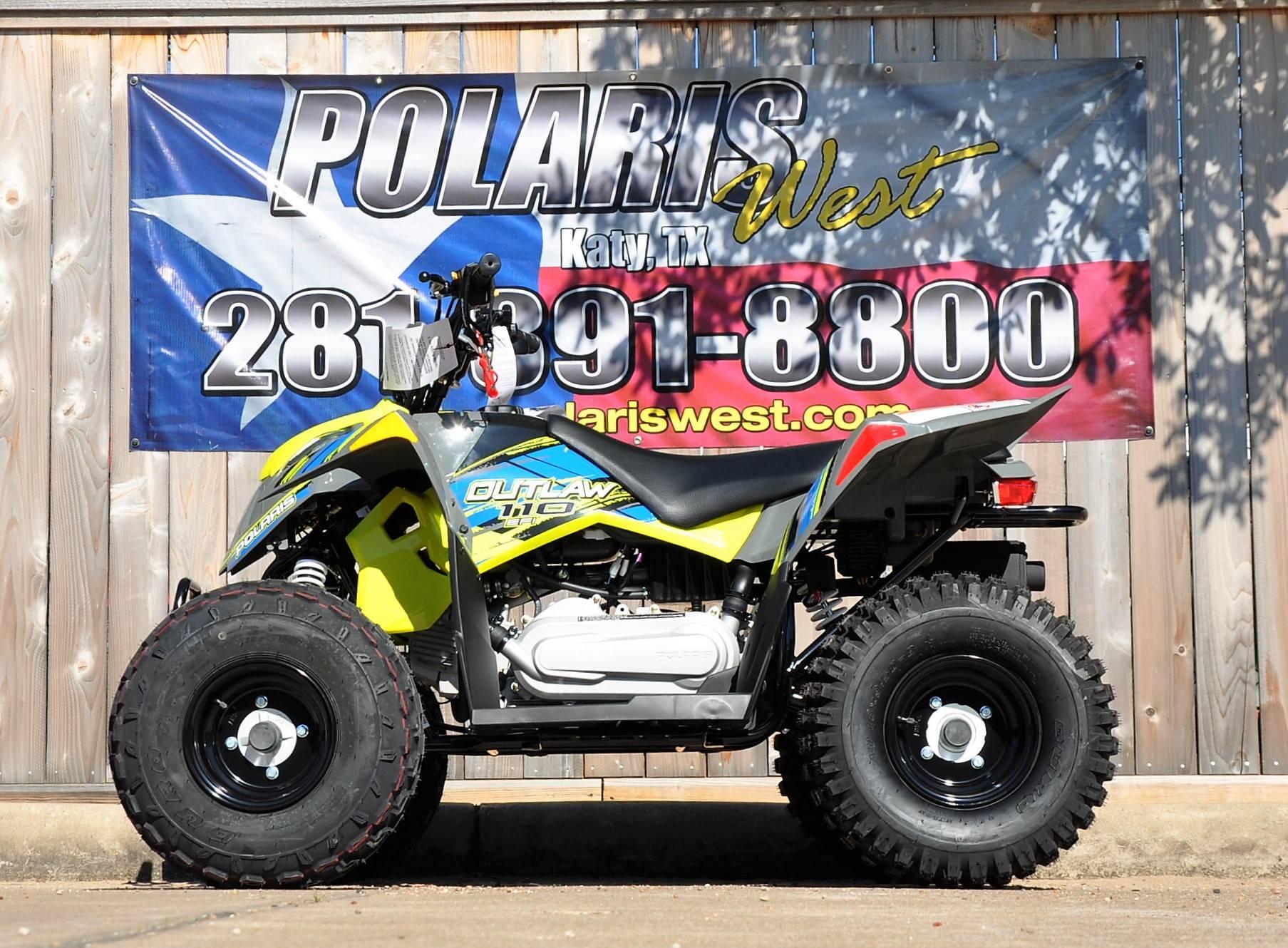 2017 Polaris Outlaw 110 1