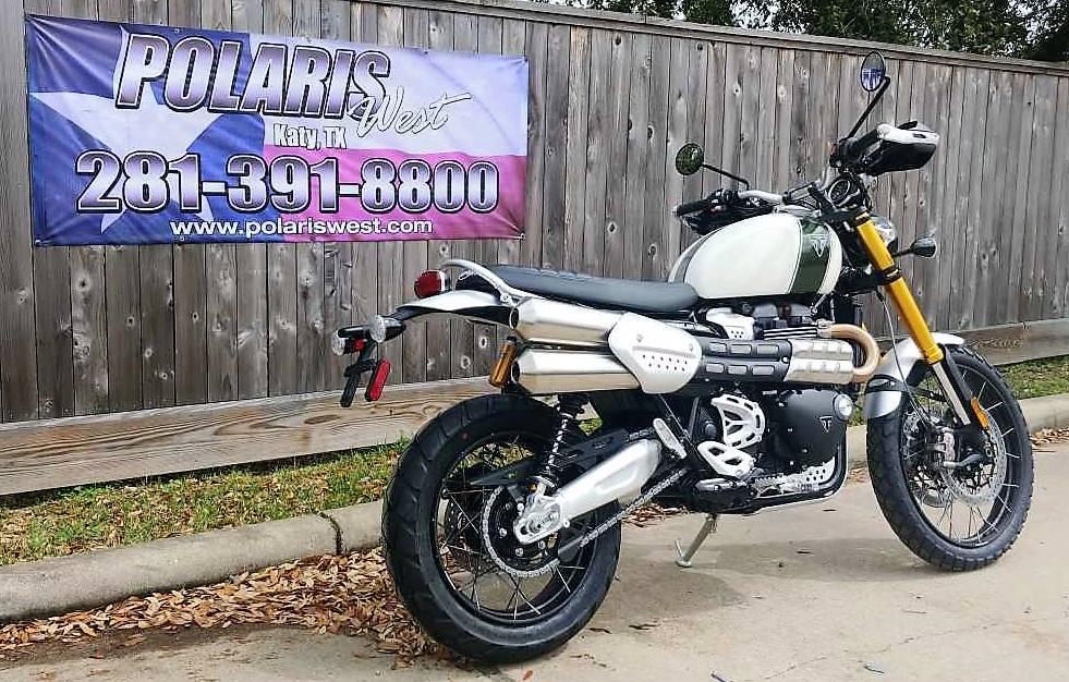 2019 Triumph Scrambler 1200 XE in Katy, Texas